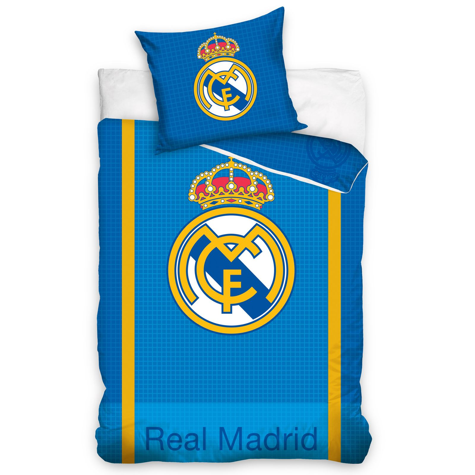 Officiel real madrid simple couverture double lit for Decoration chambre real madrid