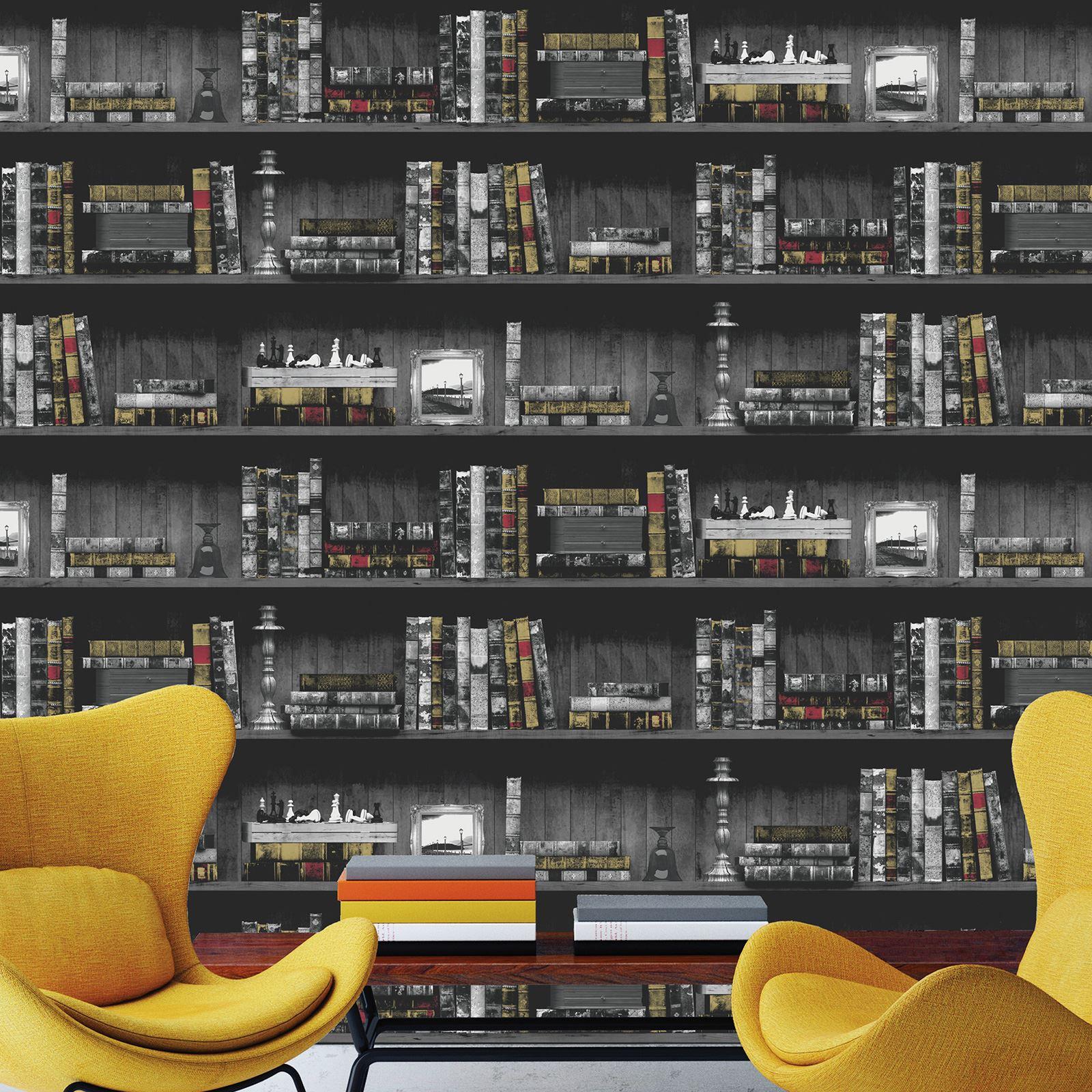 holden b cherschrank tapete schwarz und braun erh ltlich. Black Bedroom Furniture Sets. Home Design Ideas