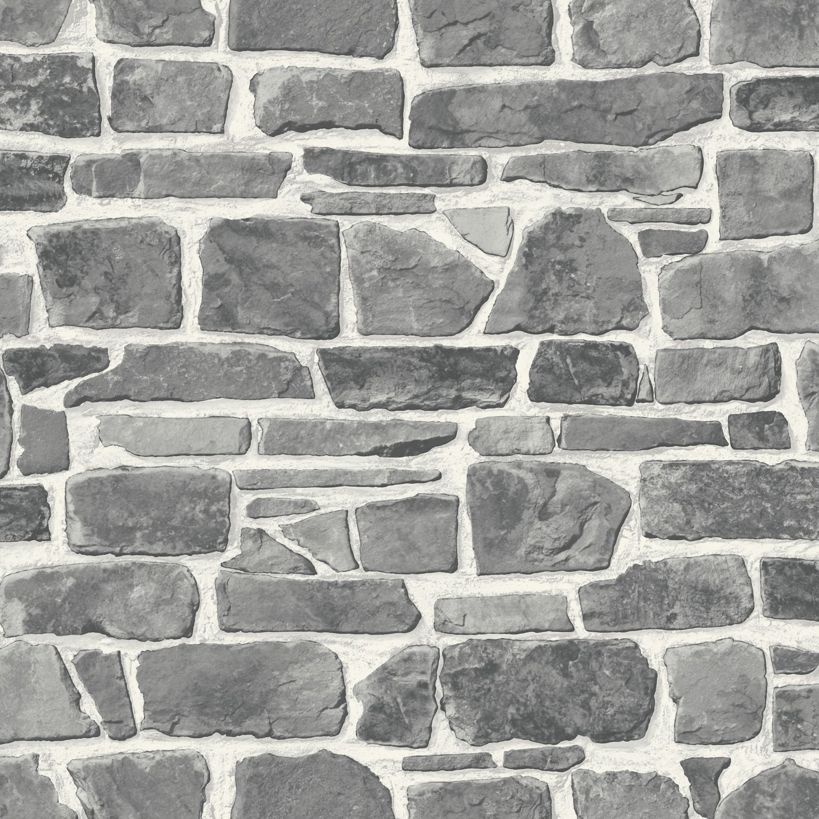 grey stone wall wallpaper rasch 265620 new feature