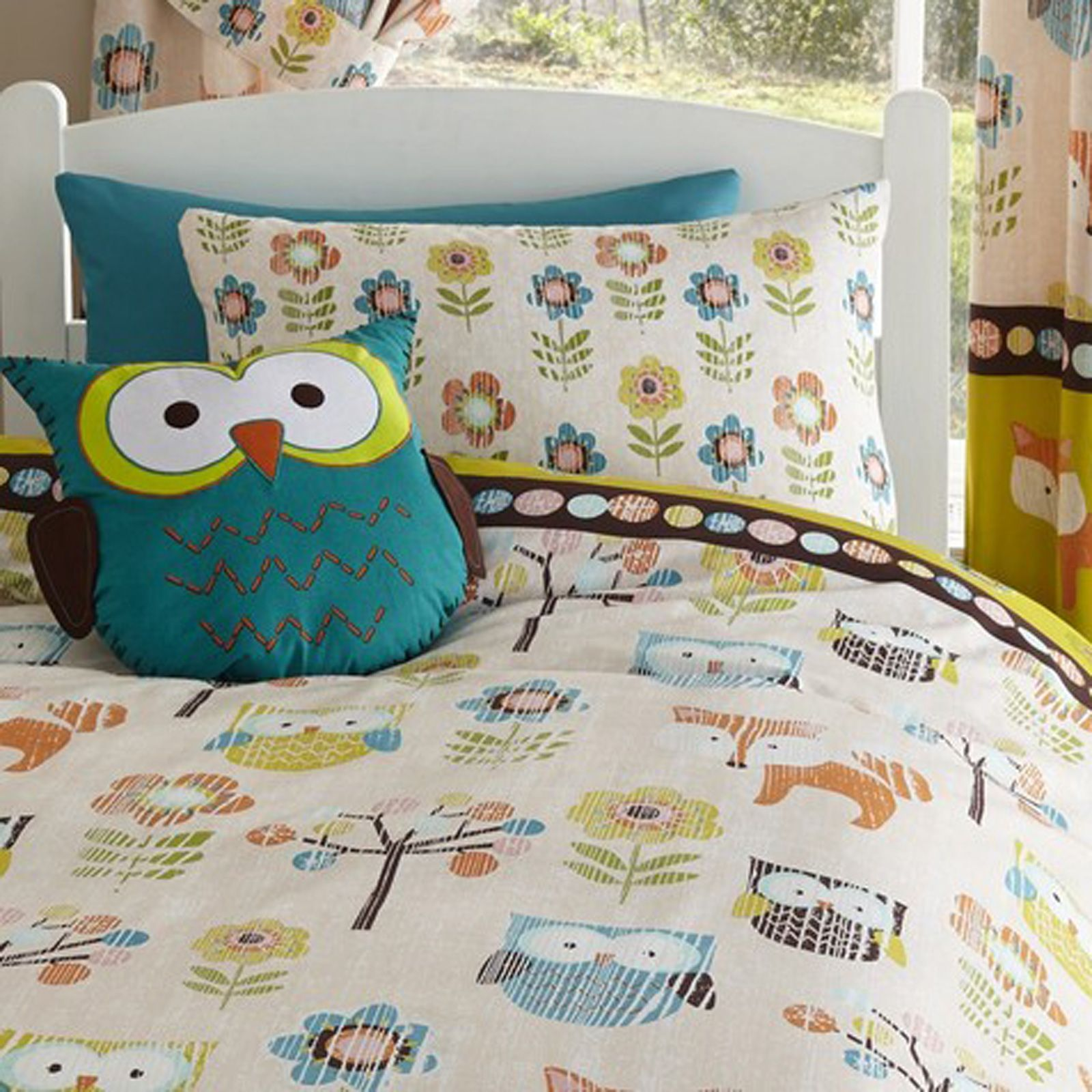 Single treffen owl king doona cover