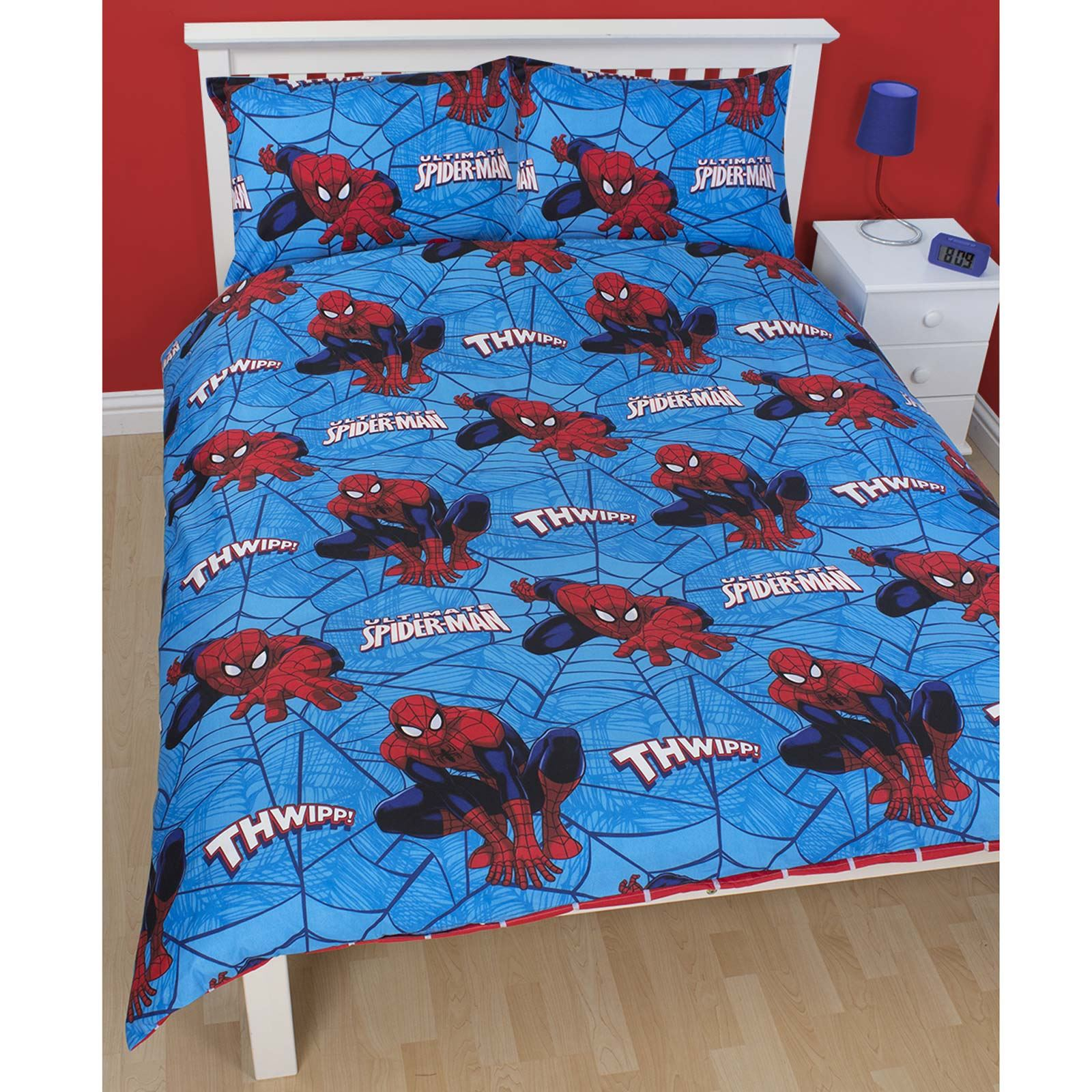 Spiderman Ultimate City Double Duvet Cover New Spider