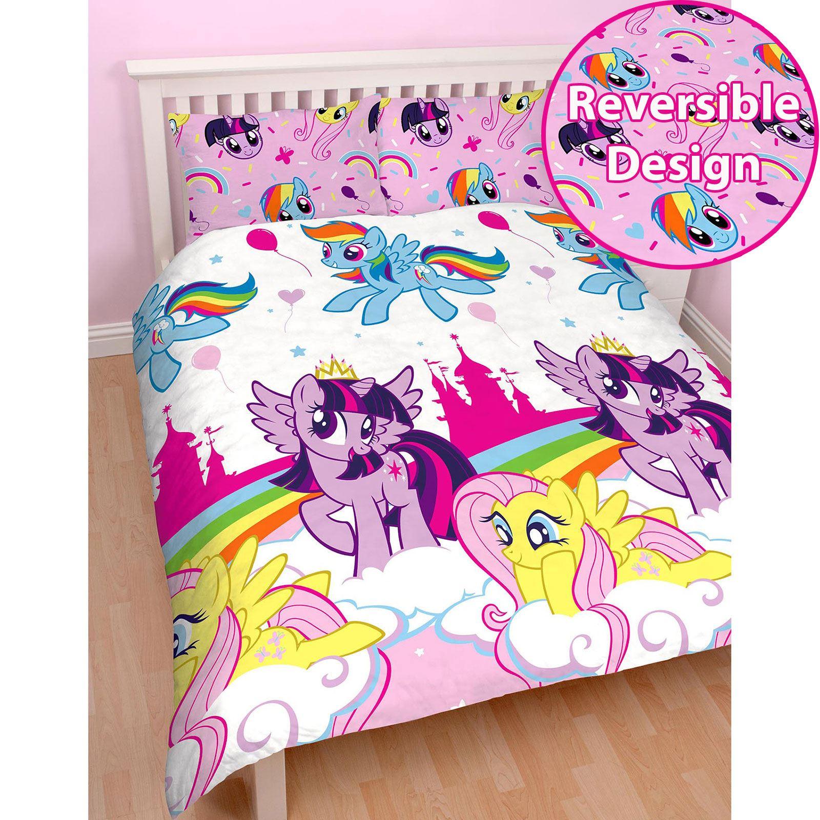 my little pony single duvet cover sets girls bedroom