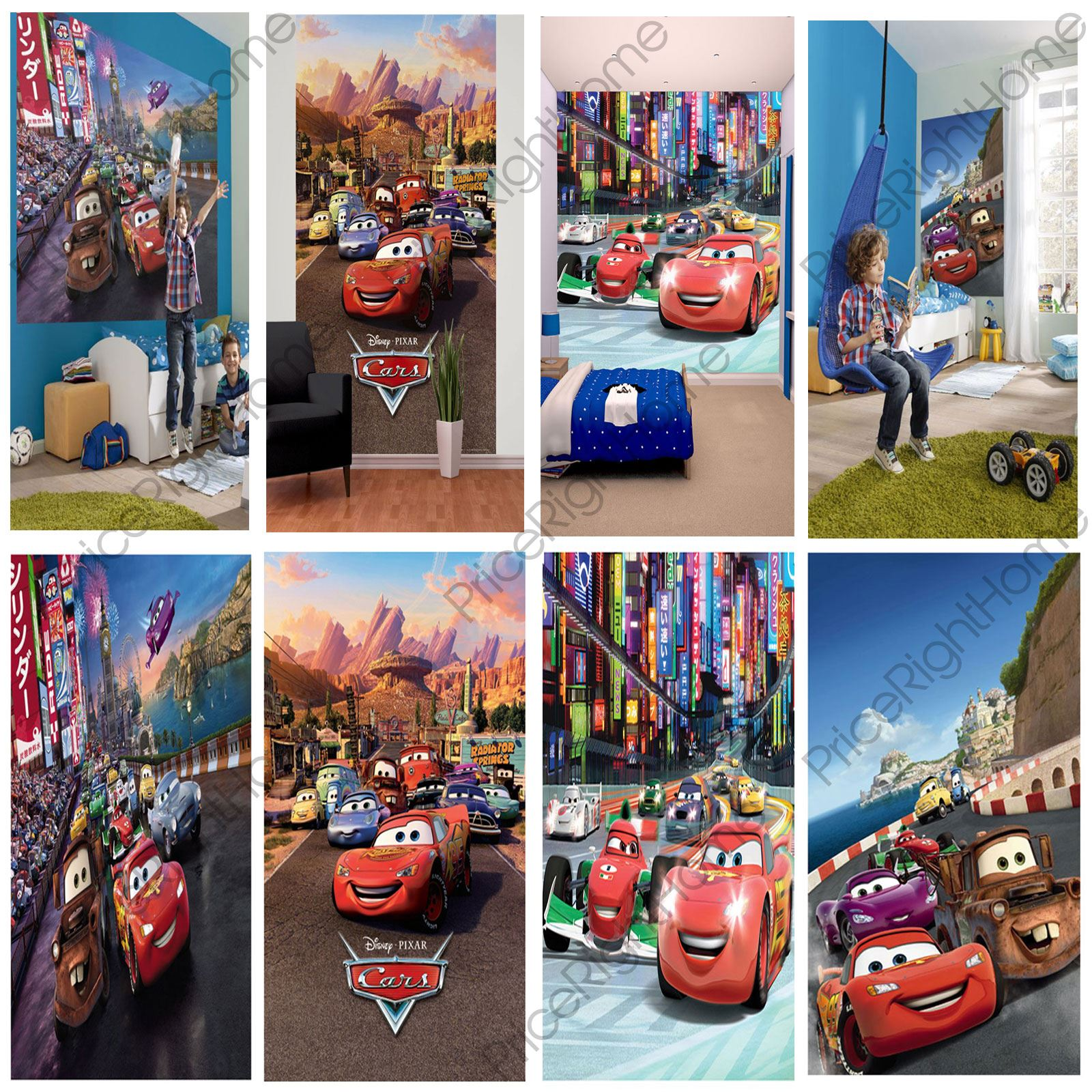 disney cars wall murals 6 designs available kids bedroom pics photos pictures disney cars photo wall mural cars