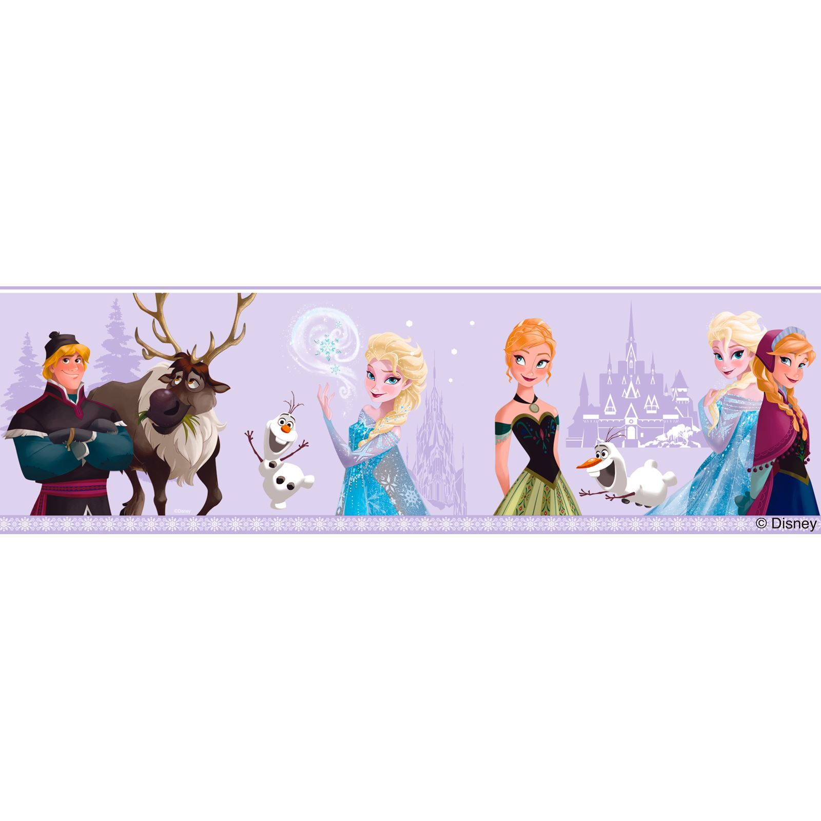 disney frozen wall d201cor includes wallpaper borders and