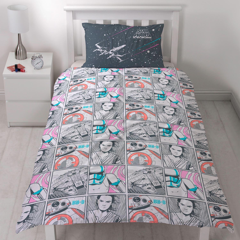 star wars episode vii the force awakens duvet quilt covers. Black Bedroom Furniture Sets. Home Design Ideas