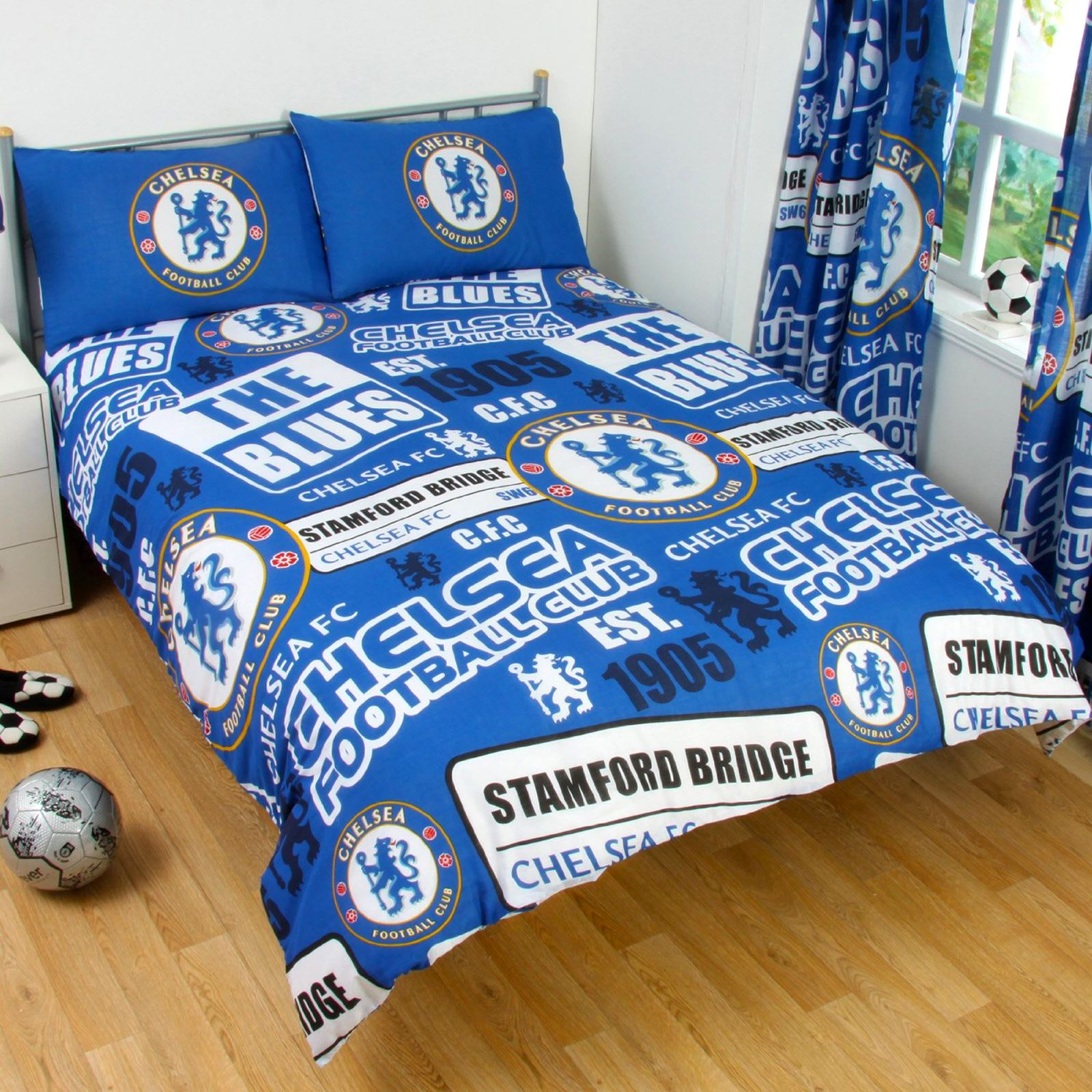 official chelsea football bedding duvet cover sets boys