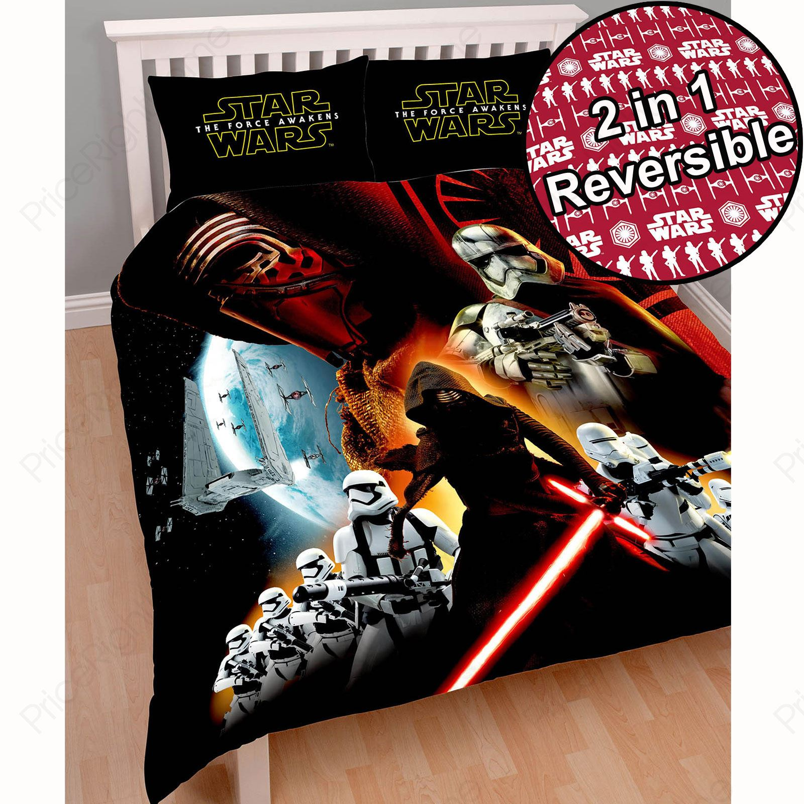 Star wars duvet covers bedding bedroom new and official ebay for Decoration chambre lego
