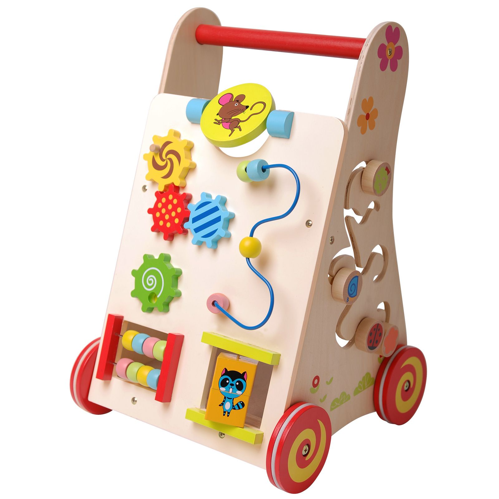 Cool bedroom furniture for girls - Details About Wooden Multi Activity Walker New Boxed Kids Toy