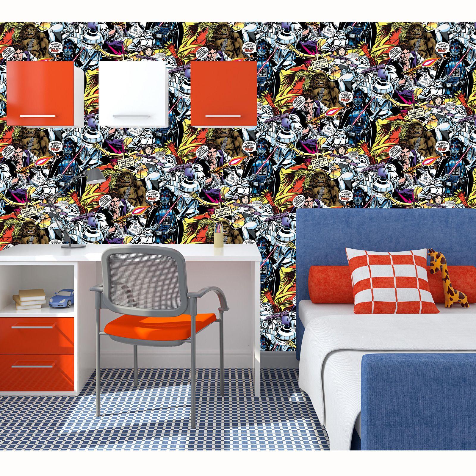 star wars wallpaper room decor | mimiku