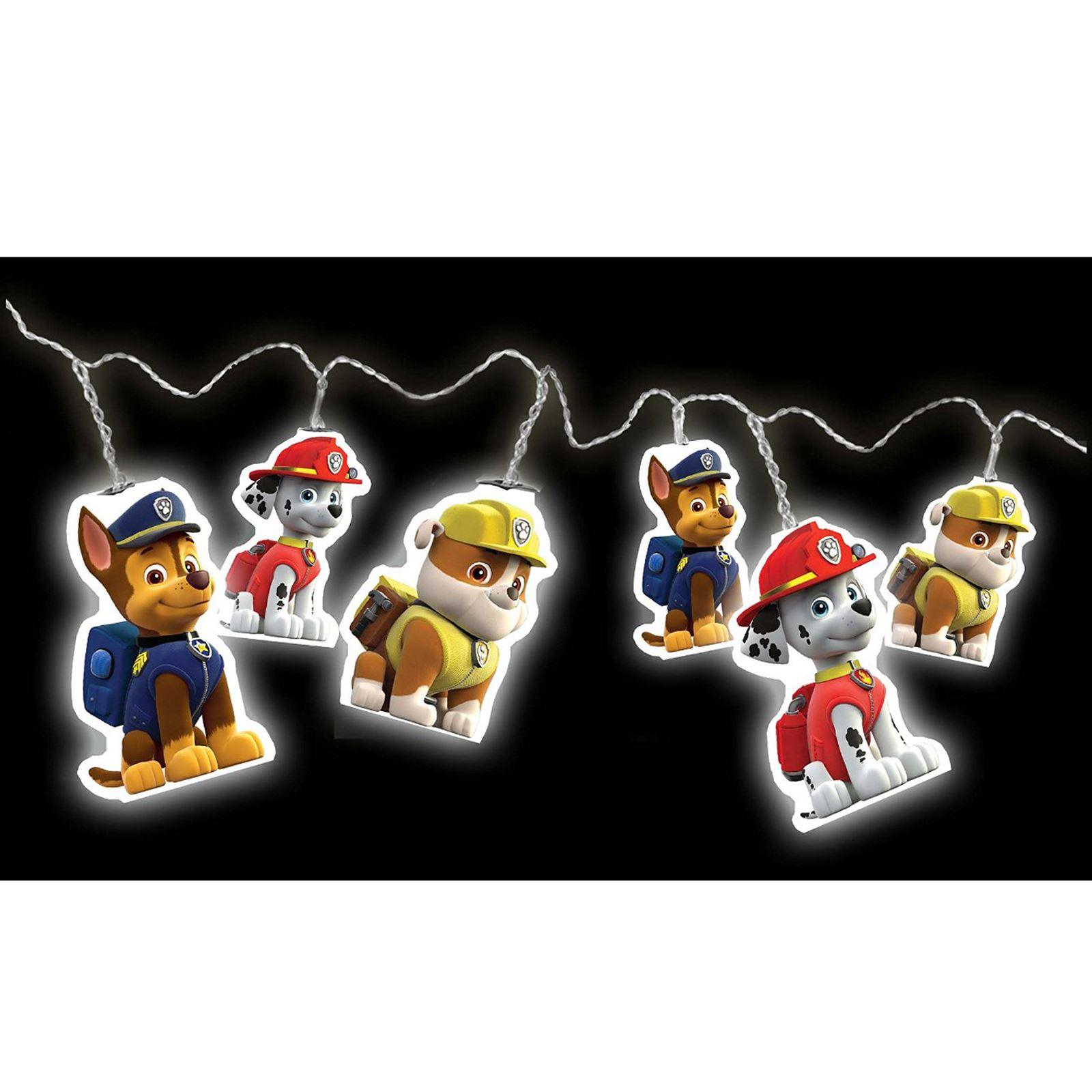 PAW PATROL LED STRING LIGHTS NEW KIDS NIGHT MOOD LIGHTING eBay