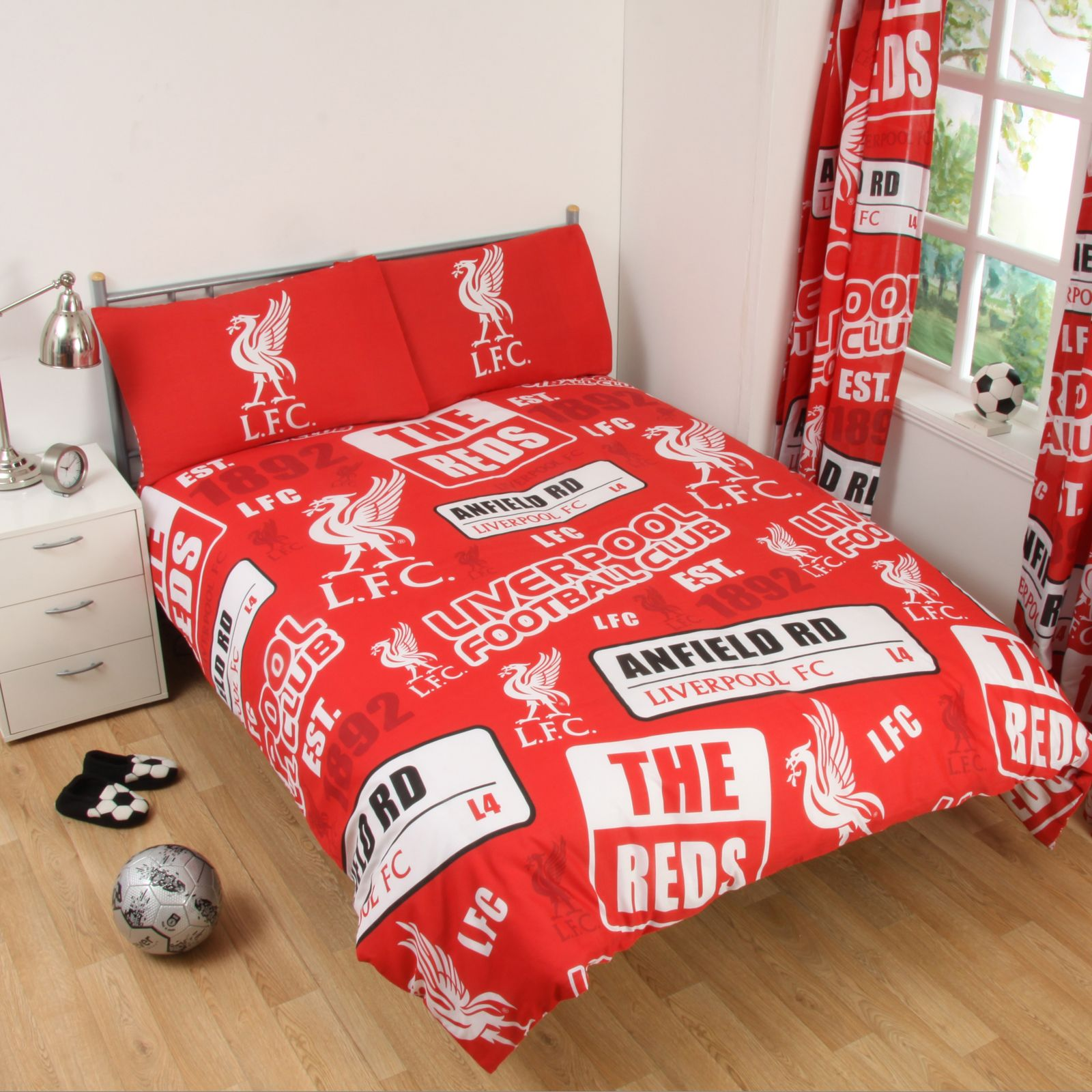 Related: liverpool bedding double liverpool single bedding liverpool bedroom liverpool curtains football bedding liverpool fc liverpool cushion liverpool bed set Refine more Format.