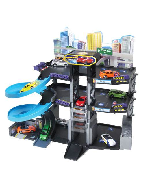 Toy Garages For Boys : High rise parking garage new toy cars fun boys