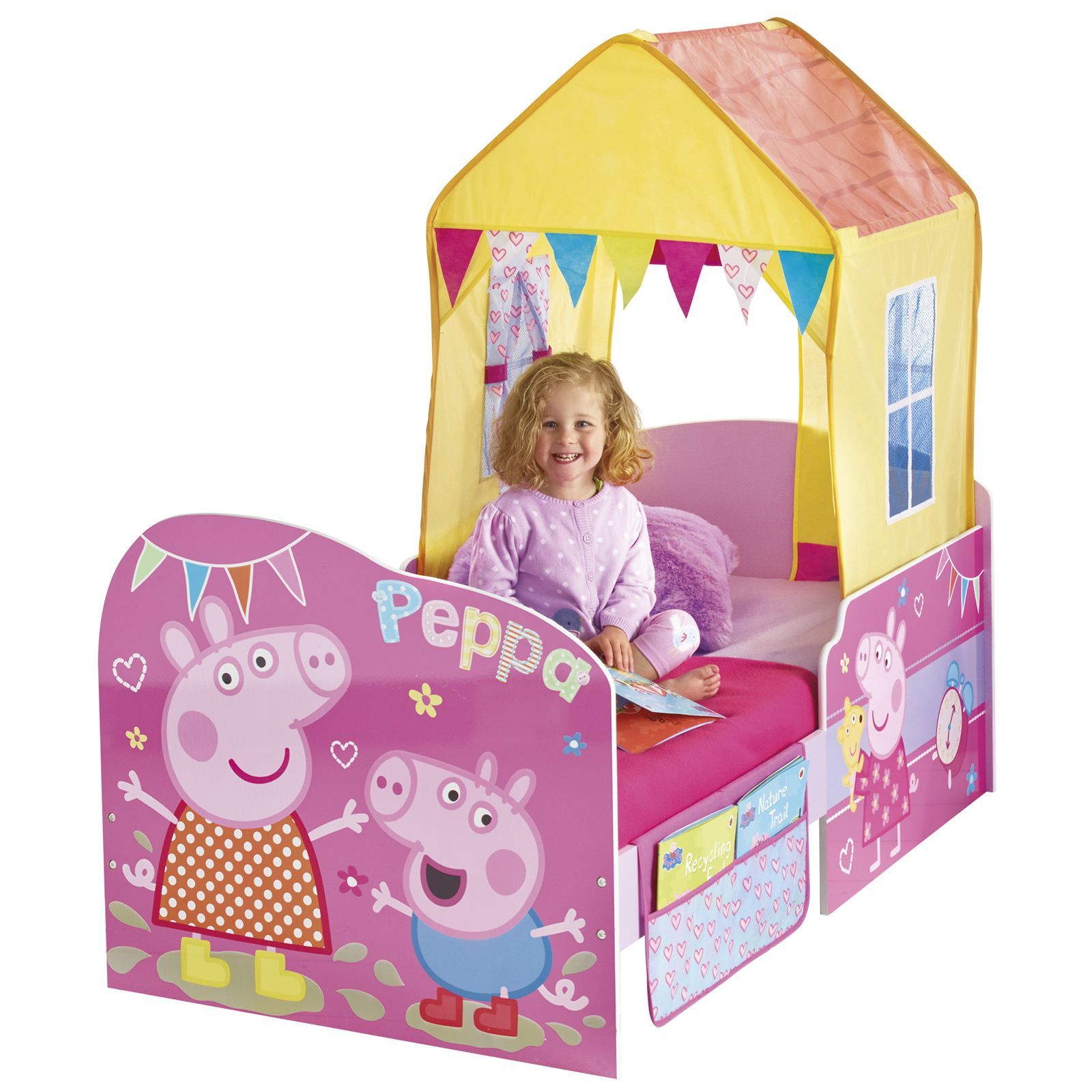 PEPPA PIG 'STARTIME' JUNIOR TODDLER FEATURE BED NEW OFFICIAL | eBay