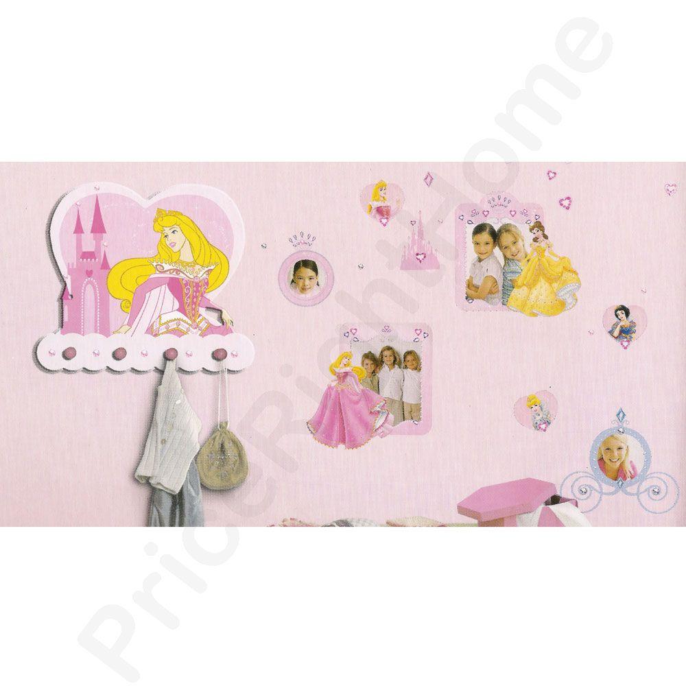 Disney Princess Figure Wall Stickers New Kids Bedroom 100