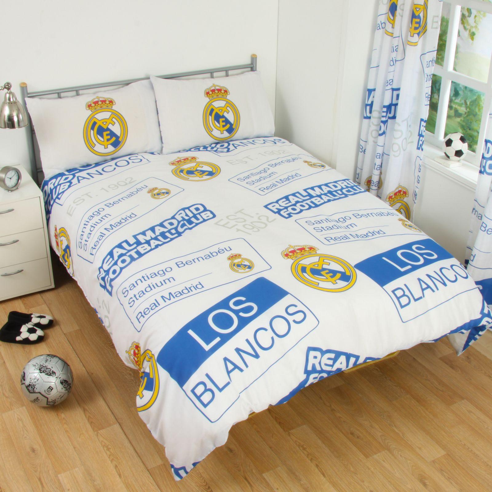 Accessoires de Chambre Football aux Couleurs du REAL MADRID  eBay