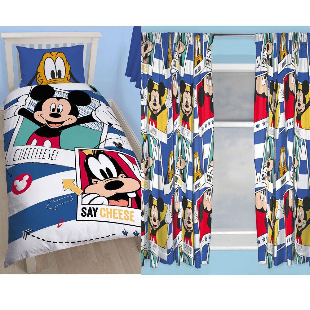 Topolino camera da letto gamma copripiumino per letto for Tende topolino