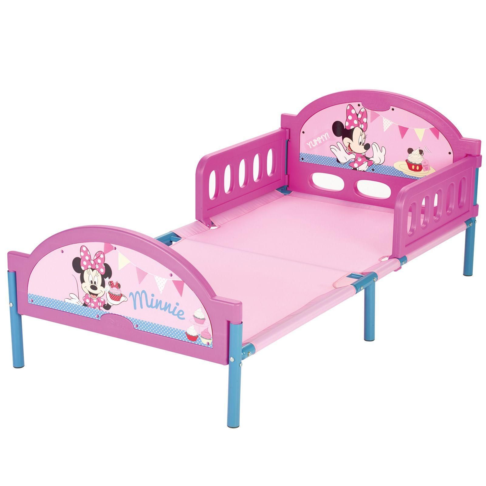 minnie mouse kleinkind bett luxus matress neu offiziell ebay. Black Bedroom Furniture Sets. Home Design Ideas