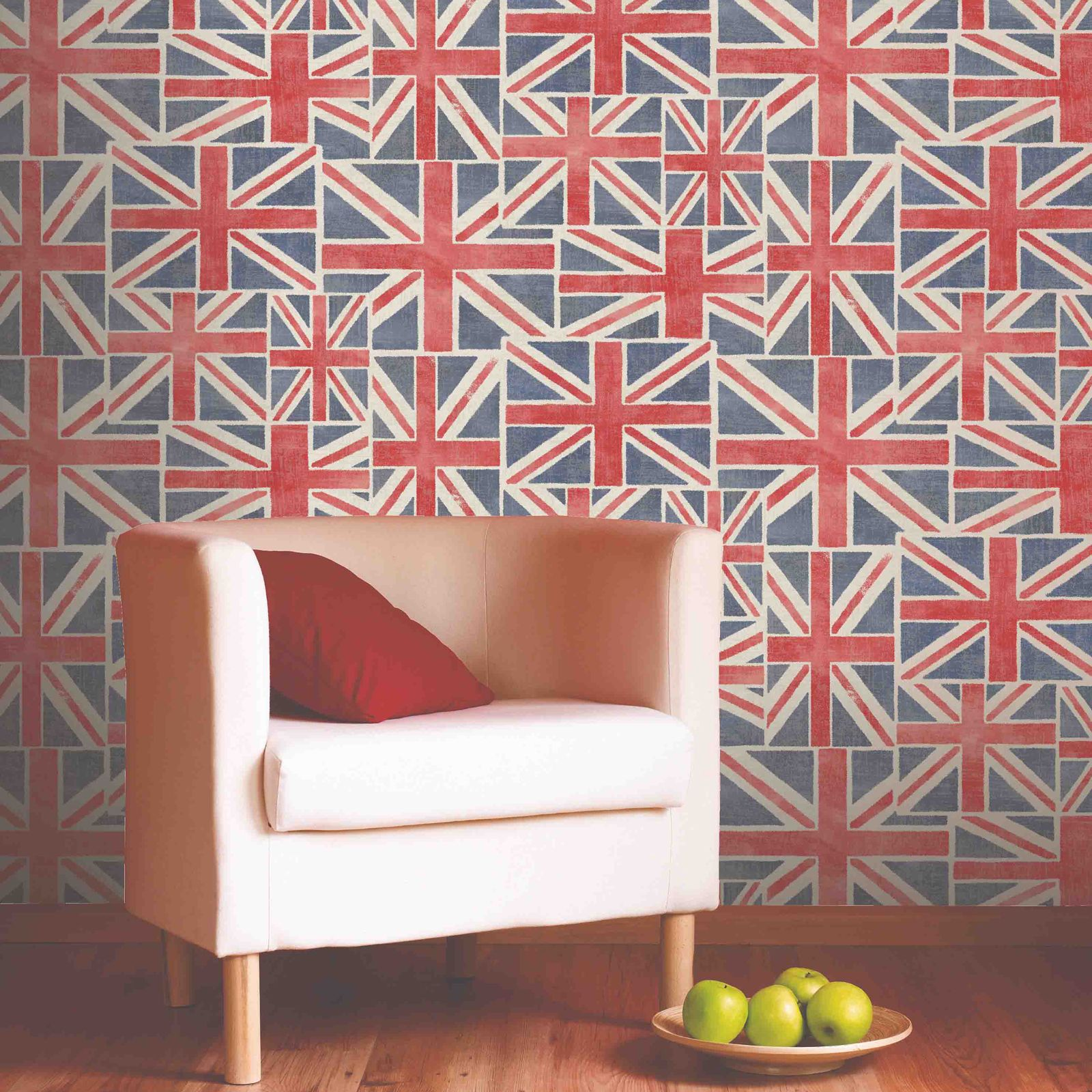Union Jack Wallpaper 10m New Feature Wall British Flag Sealed Ebay