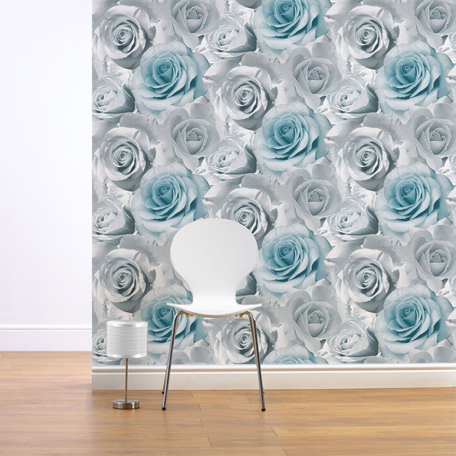 Shabby Chic Wall Decor Shabby Chic Floral Wallpaper In Various Designs Wall Decor New Ebay