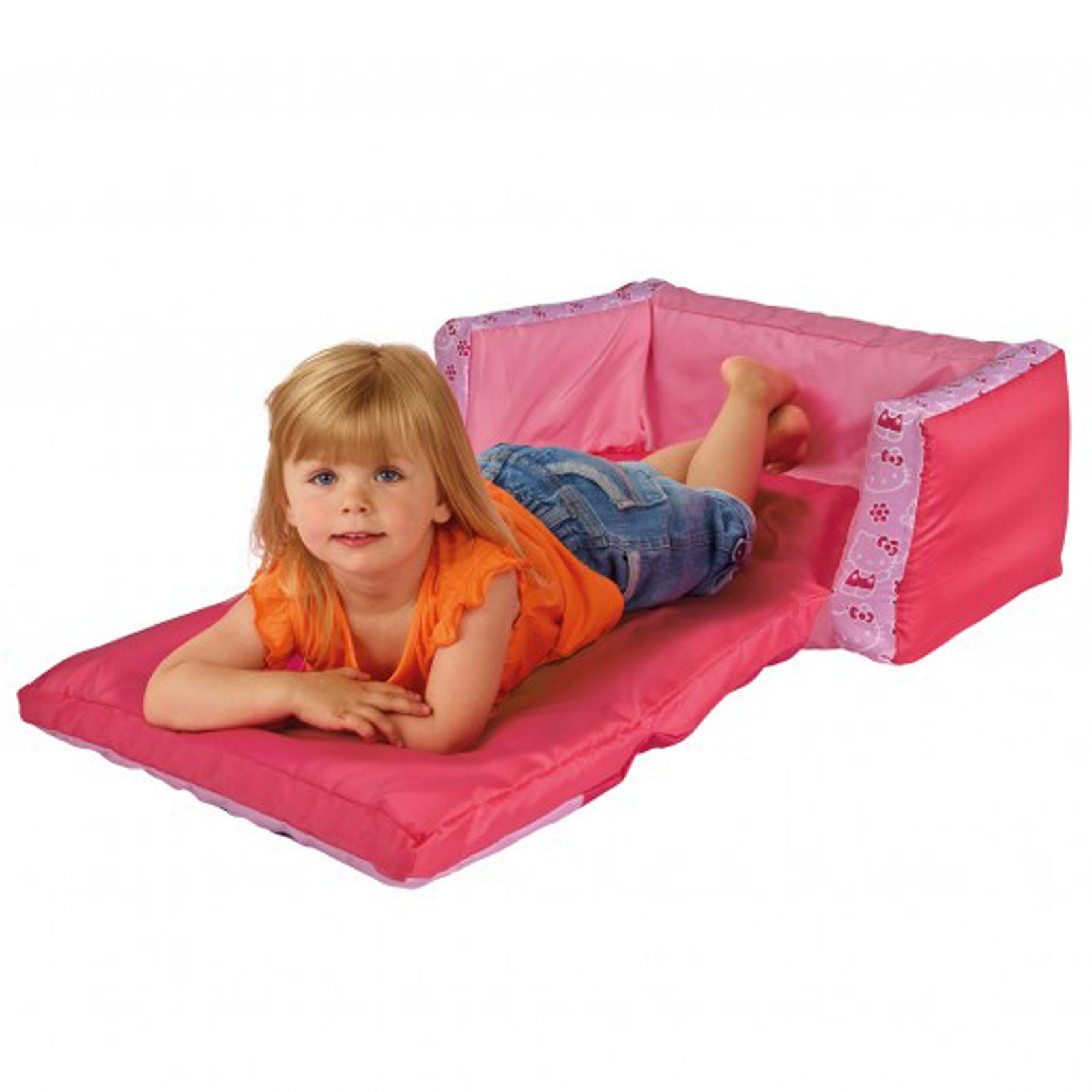 Hello kitty flip out sofa bed new inflatable kids Toddler flip out sofa couch bed