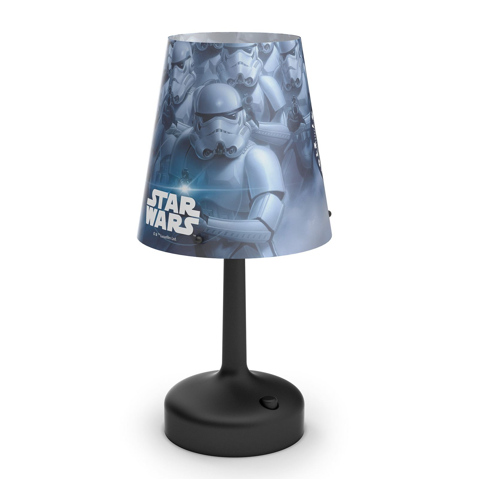 star wars stormtrooper tragbar tischlampe kinder. Black Bedroom Furniture Sets. Home Design Ideas
