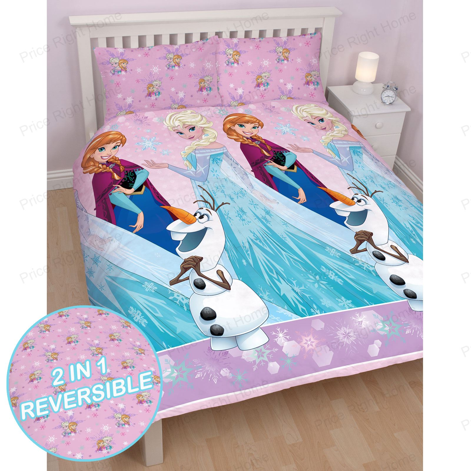 S Double Rotary Reversible Duvet Sets Princess One Direction Peppa Pig More