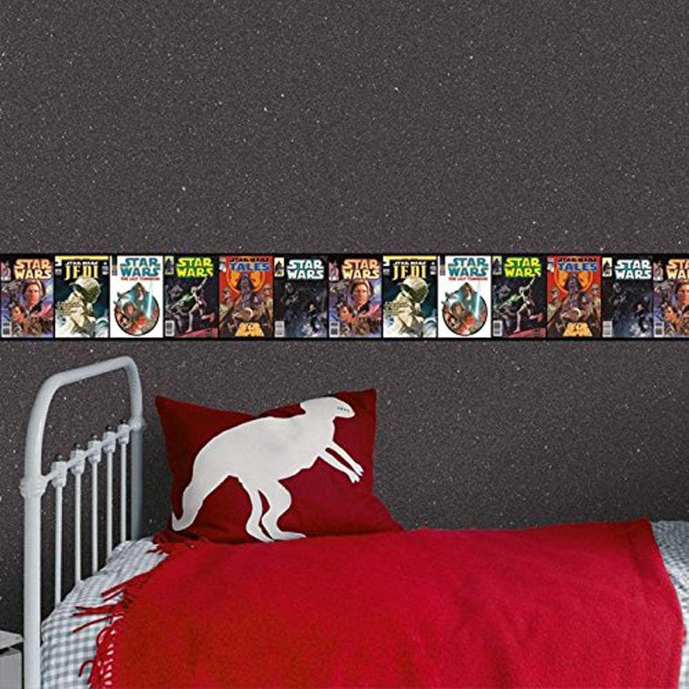 Star Wars Wallpaper And Borders Childrens Bedroom Decor