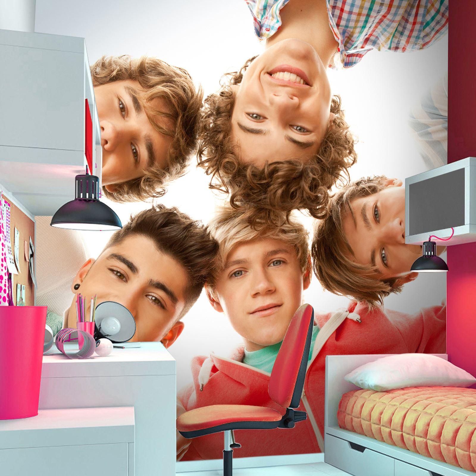 One Direction Bedroom Decor Tapete One Direction 1d Wandbild Offiziell Ebay