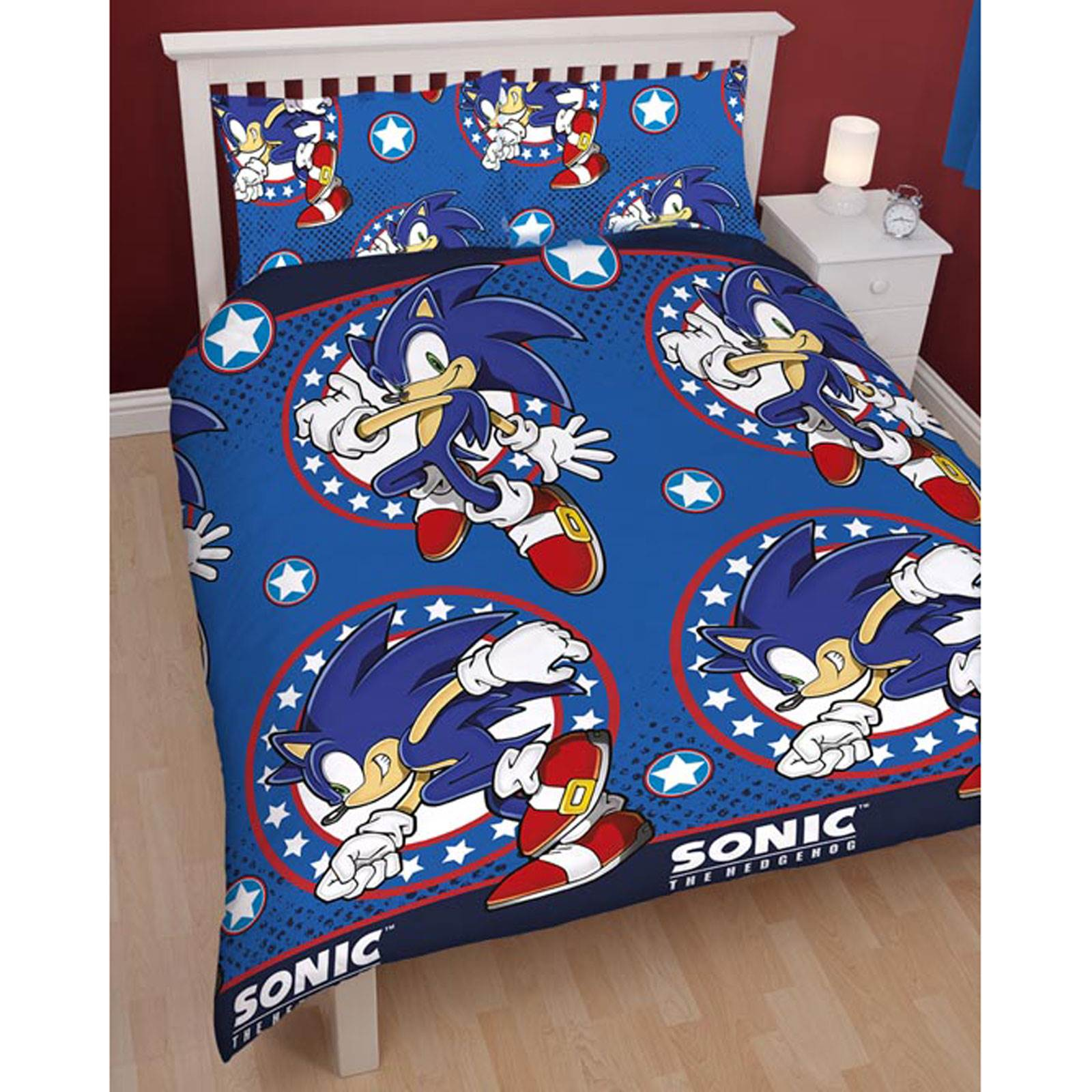Item specifics. SONIC THE HEDGEHOG BEDROOM   SINGLE   DOUBLE DUVET COVERS