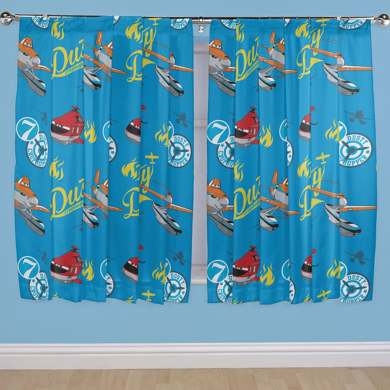 Details about KIDS DISNEY AND CHARACTER CURTAINS 54 + 72 INCH DROP ...
