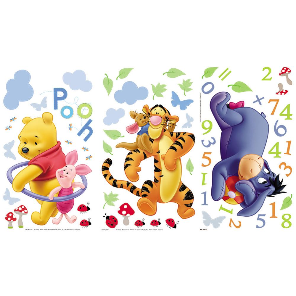 Winnie the pooh adhesivos de pared tigger cerdito - Habitacion winnie the pooh ...