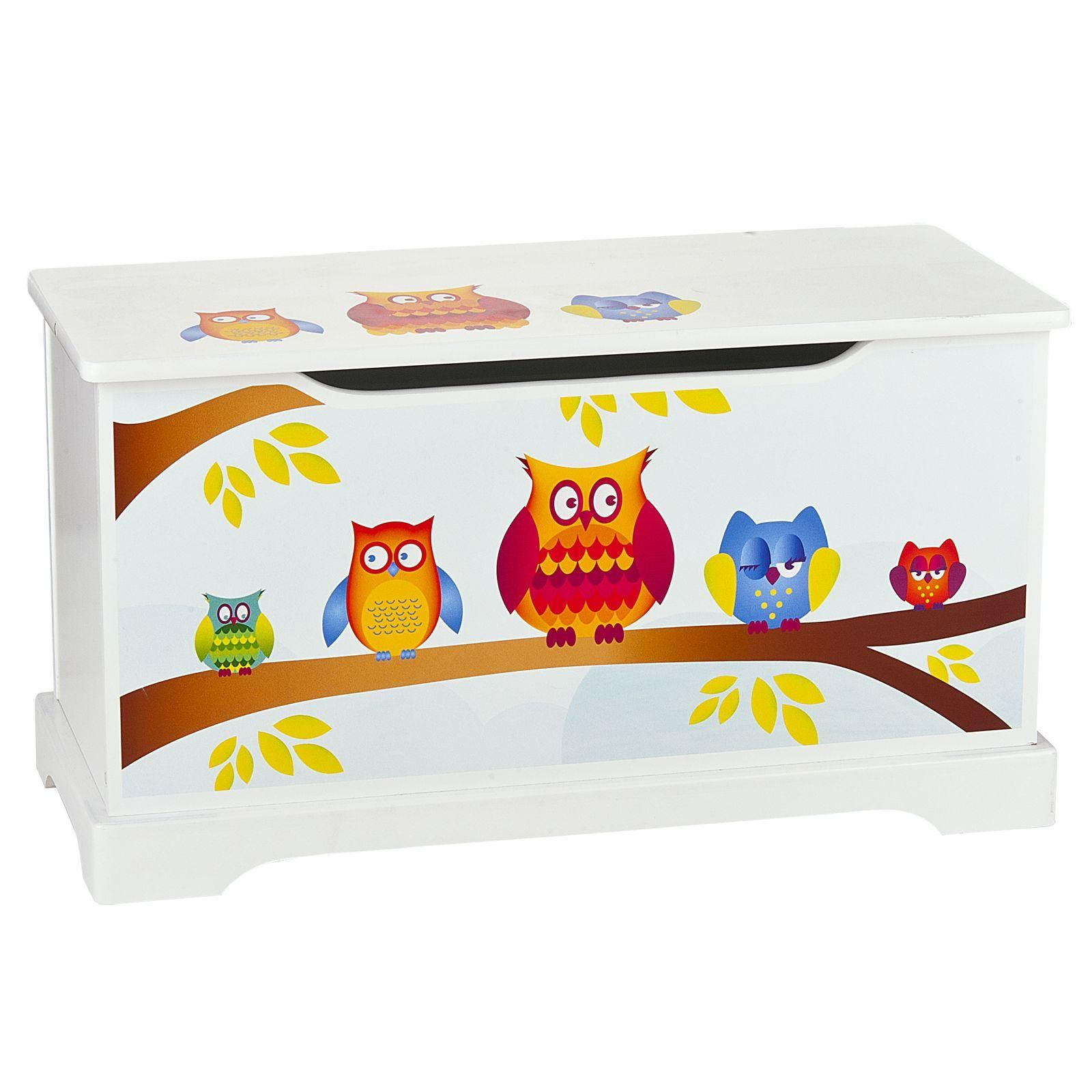Childrens wooden furniture tables chairs toy boxes owls jungle animals ebay Wooden childrens furniture