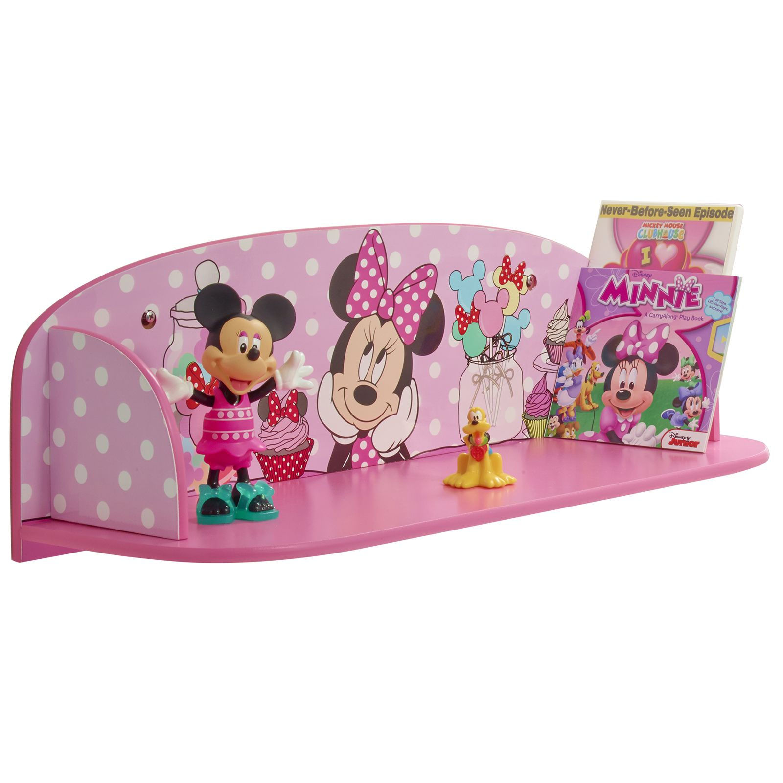 about minnie mouse booktime book shelf new bedroom furniture disney