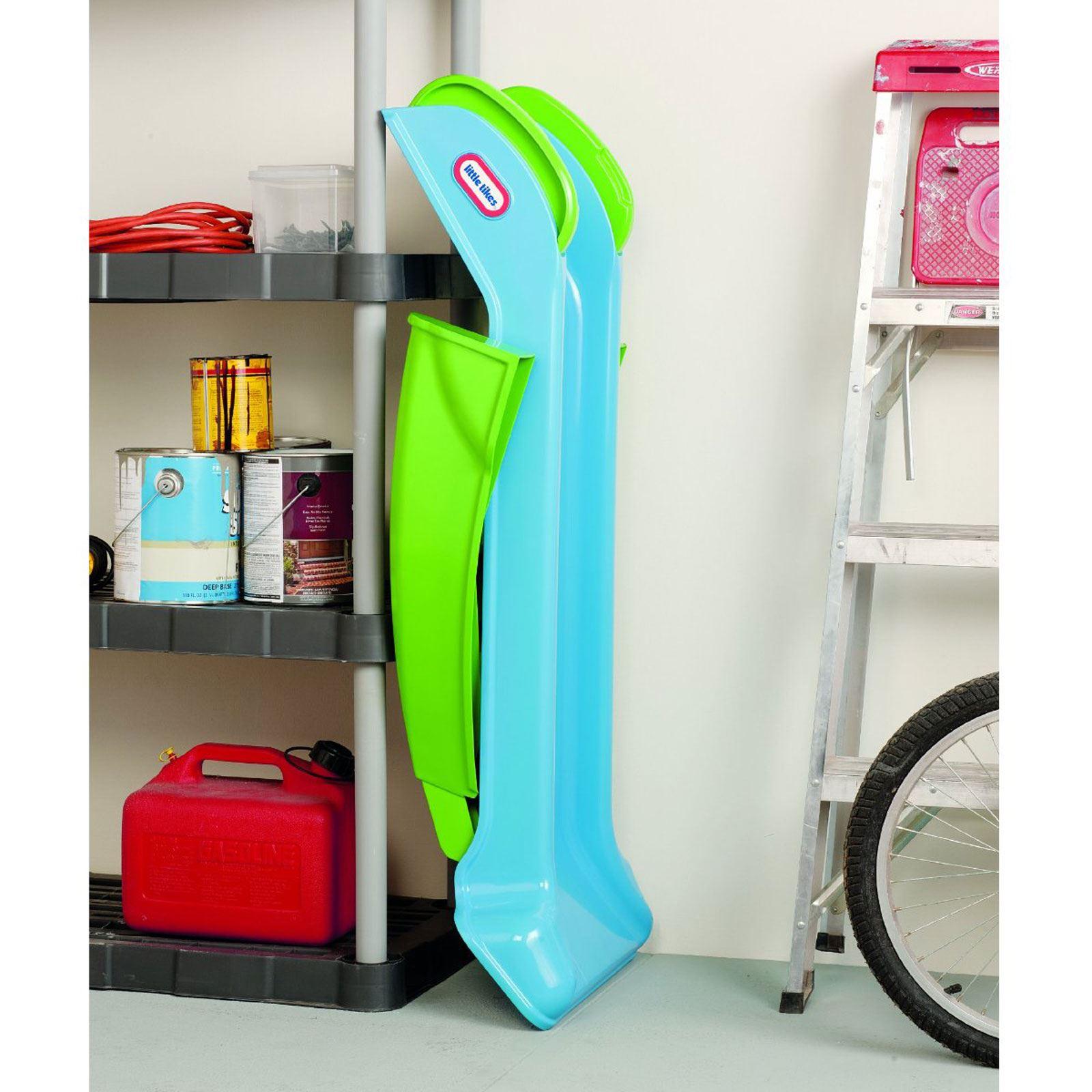 little tikes mein erstes rutsche blau gr n kinder. Black Bedroom Furniture Sets. Home Design Ideas