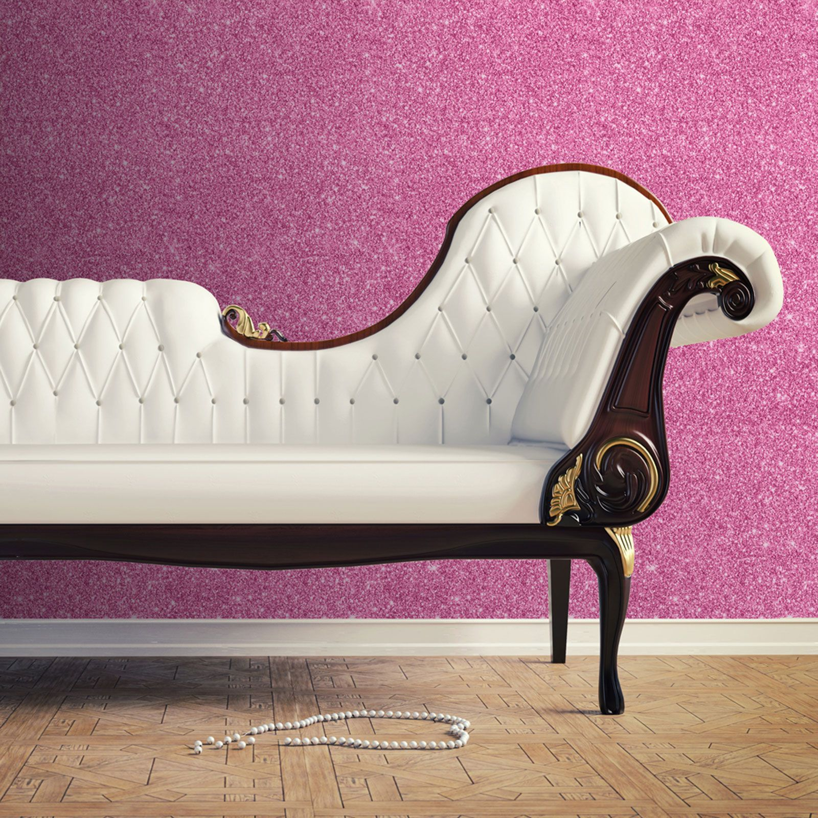 Pink And Purple Wallpaper For A Bedroom Sparkle Glitter Wallpaper Ideal For Feature Walls Pink Gold