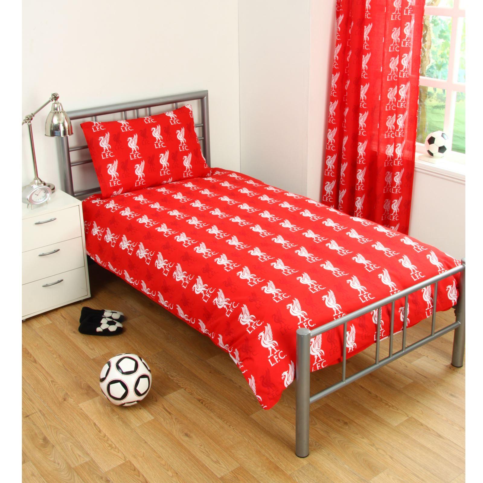 Liverpool fc individual y funda doble de edred n sets ropa - Cama doble para ninos ...