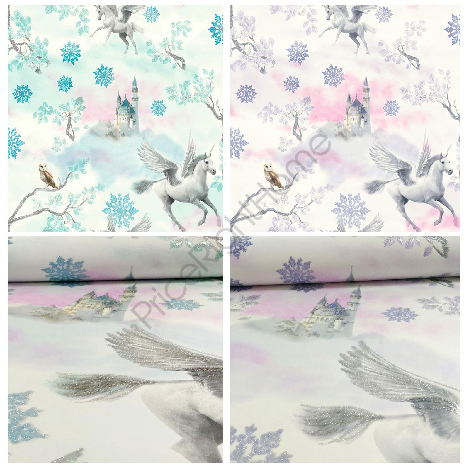 Sleigh Bedroom Sets King Bedroom Jpg Simple Bedroom Colour Design Bedroom Accessories Uk: ARTHOUSE FAIRYTALE UNICORN WALLPAPER