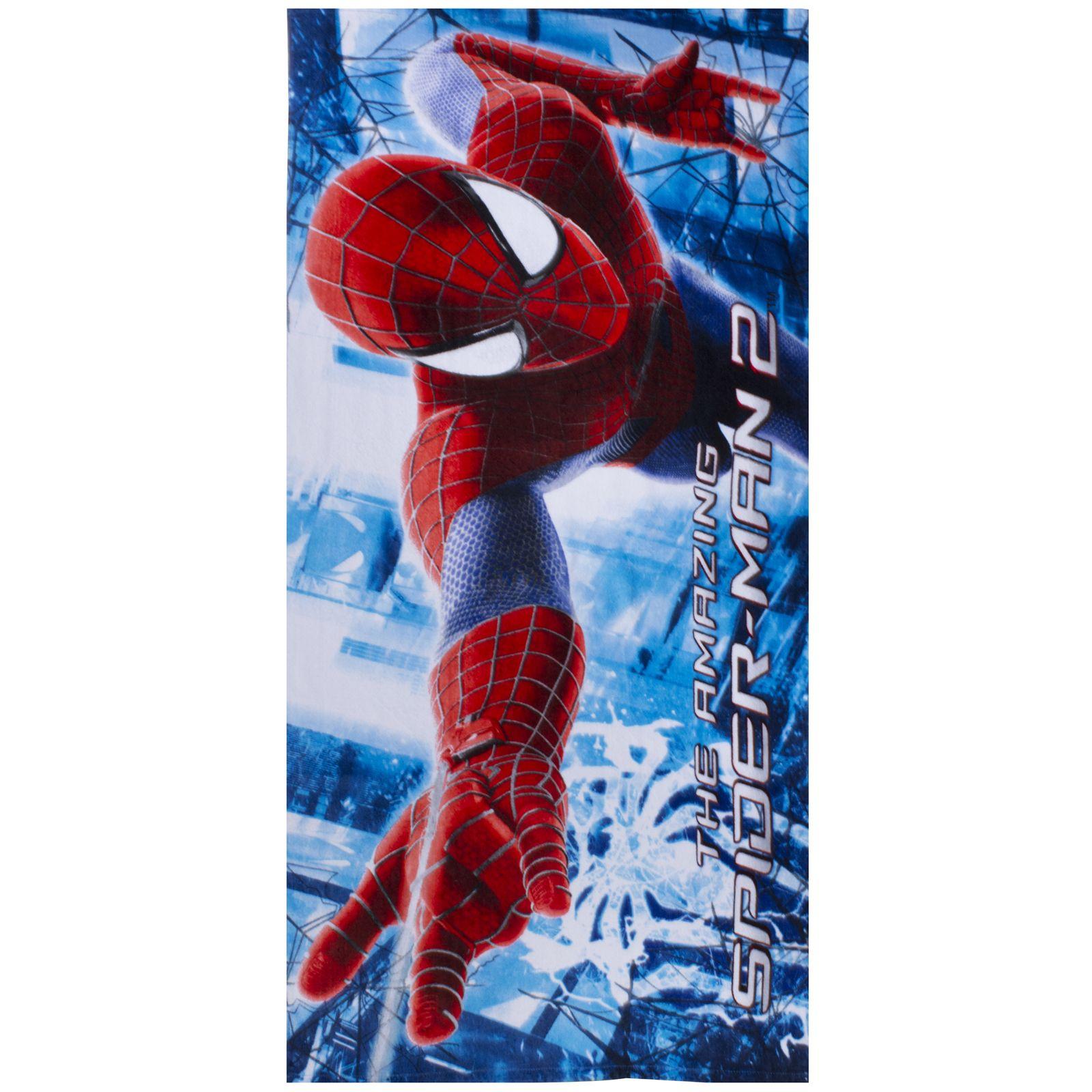 100 cotton spiderman beach bath towels various designs for Spiderman bathroom ideas