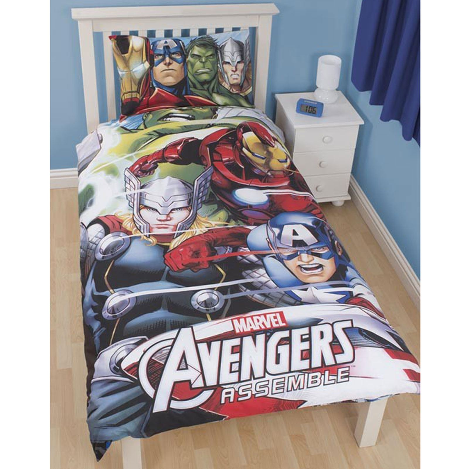 Official Avengers Marvel Comics Bedding Bedroom