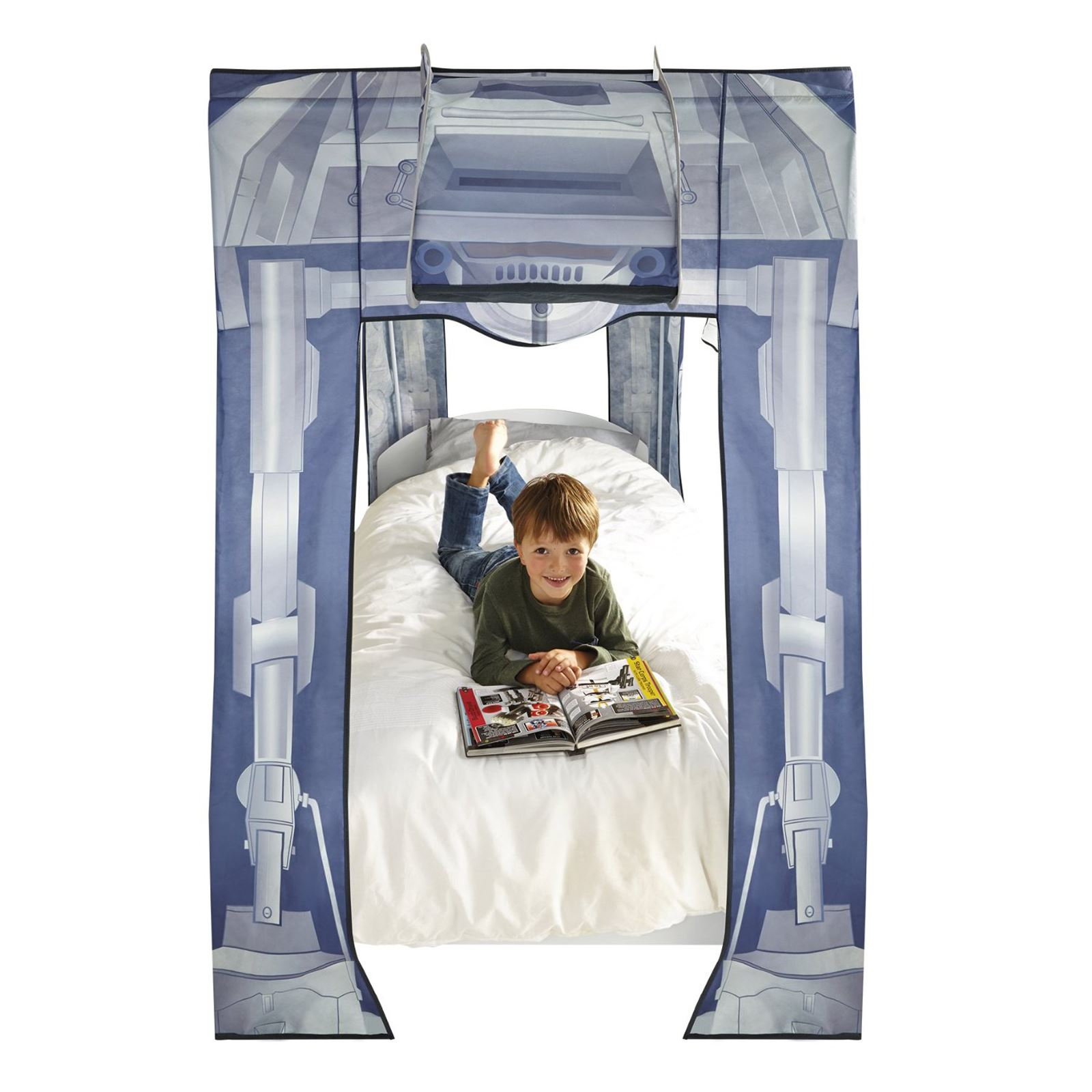 Star Wars At At Single Bed Canopy New Official Ebay
