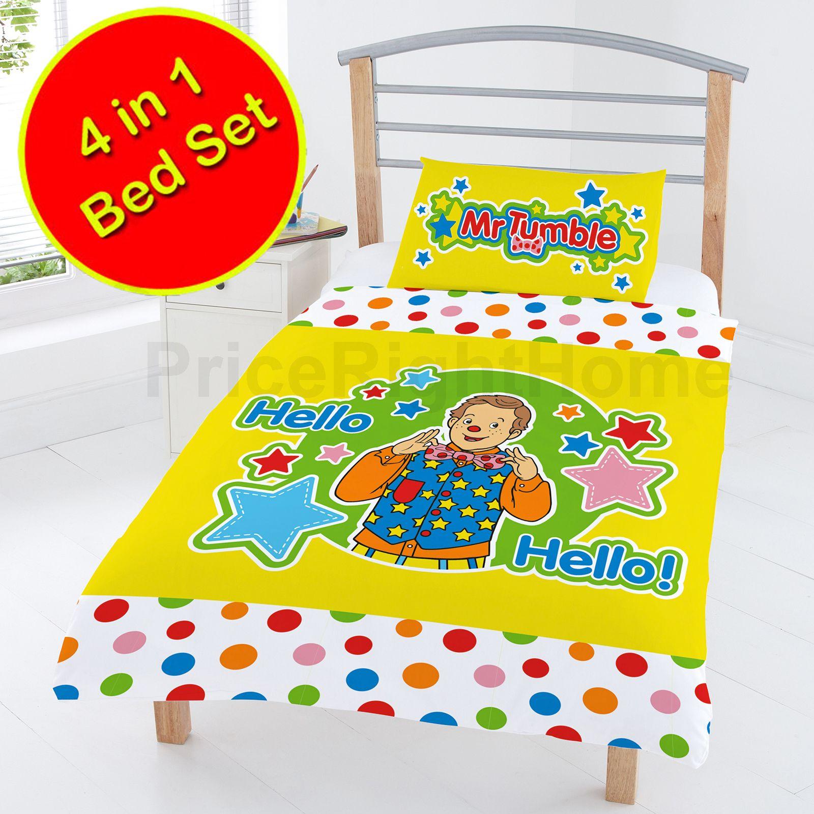 junior 4 in 1 bettw sche b ndel bettdecke kissen bezug paw patrol marvel ebay. Black Bedroom Furniture Sets. Home Design Ideas