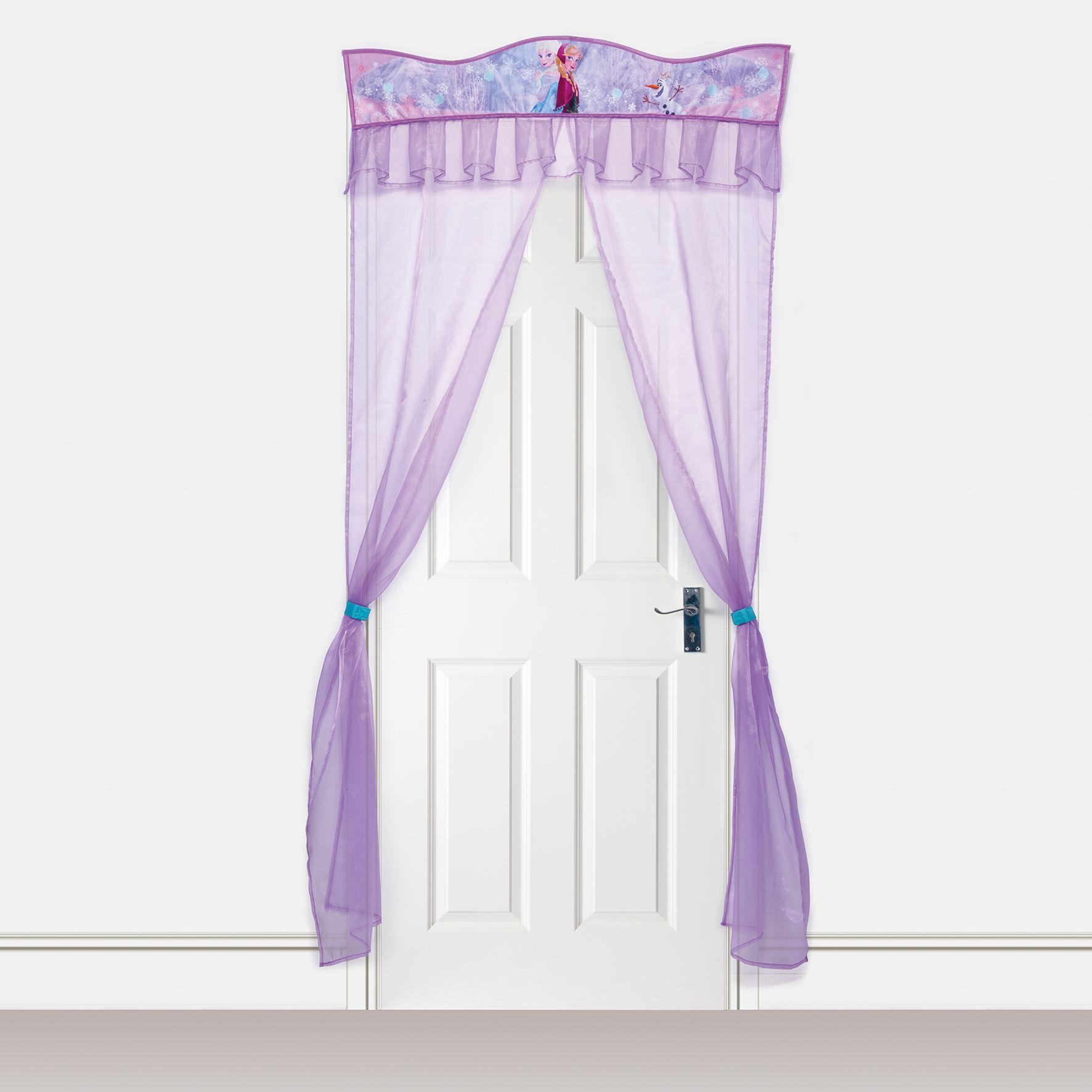 About disney frozen door decor curtain new official bedroom princess