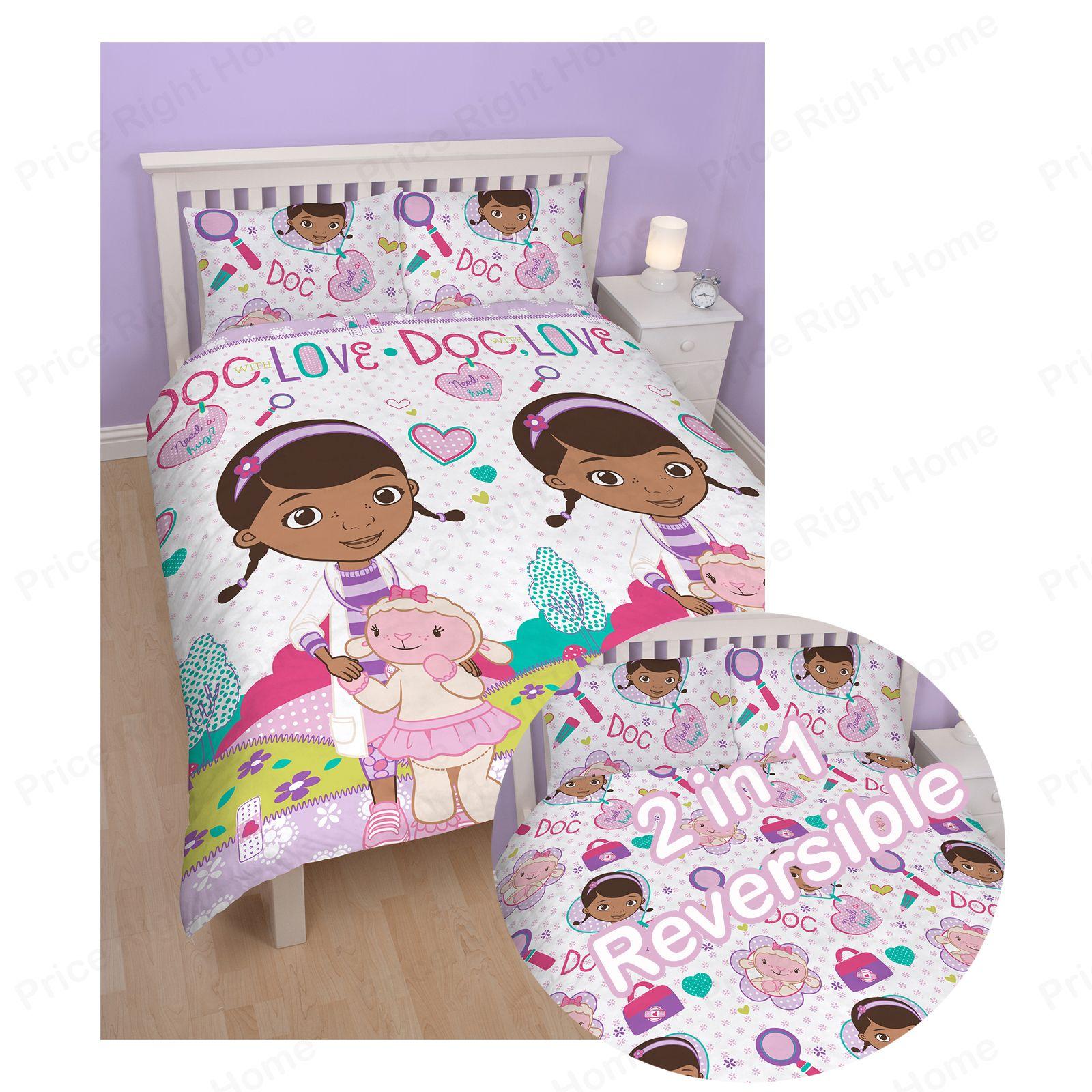 Doc McStuffins Bedroom Bedding Duvet Covers Etc Full Range