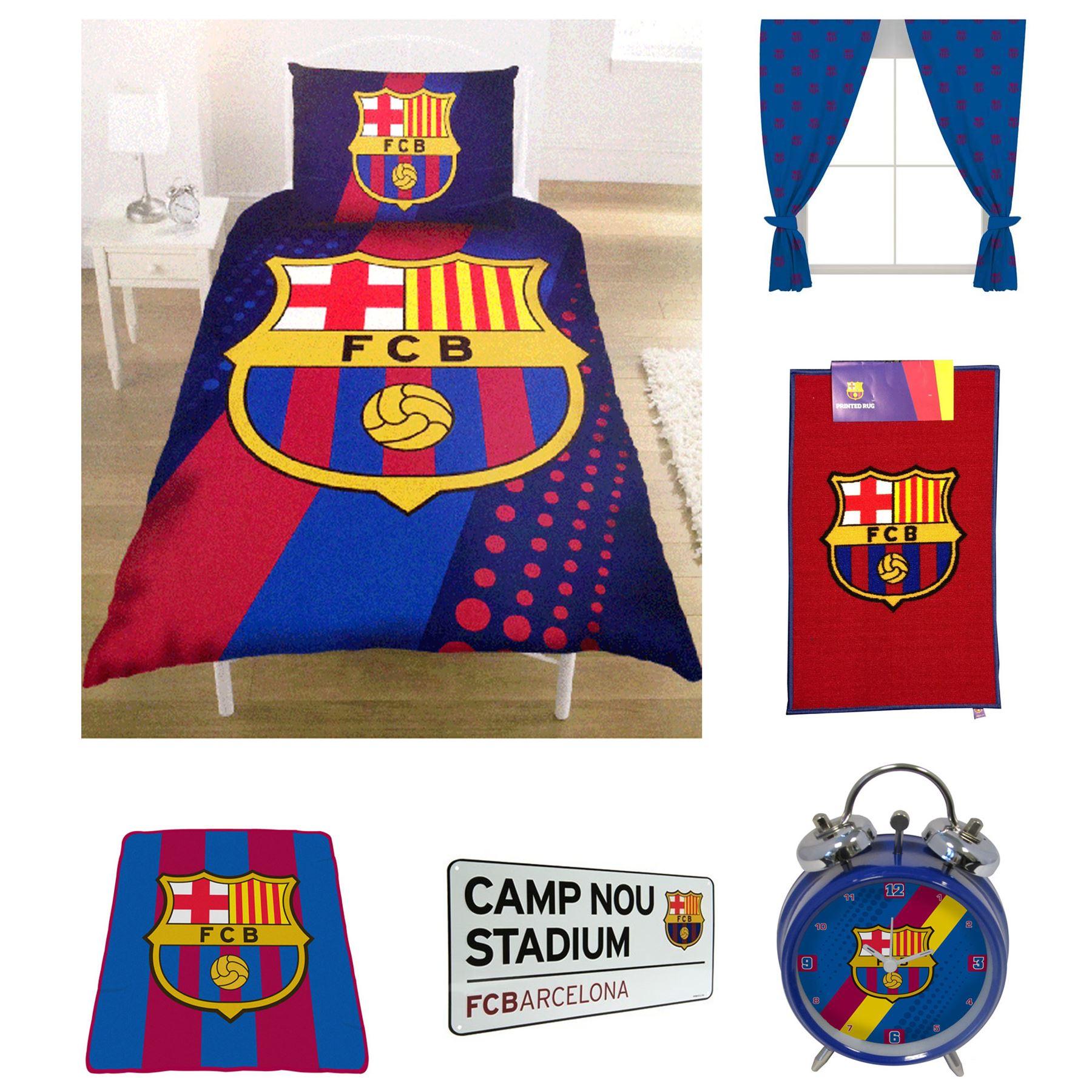 Fc barcelona accesorios para la habitaci n y ropa de cama for Chambre entiere