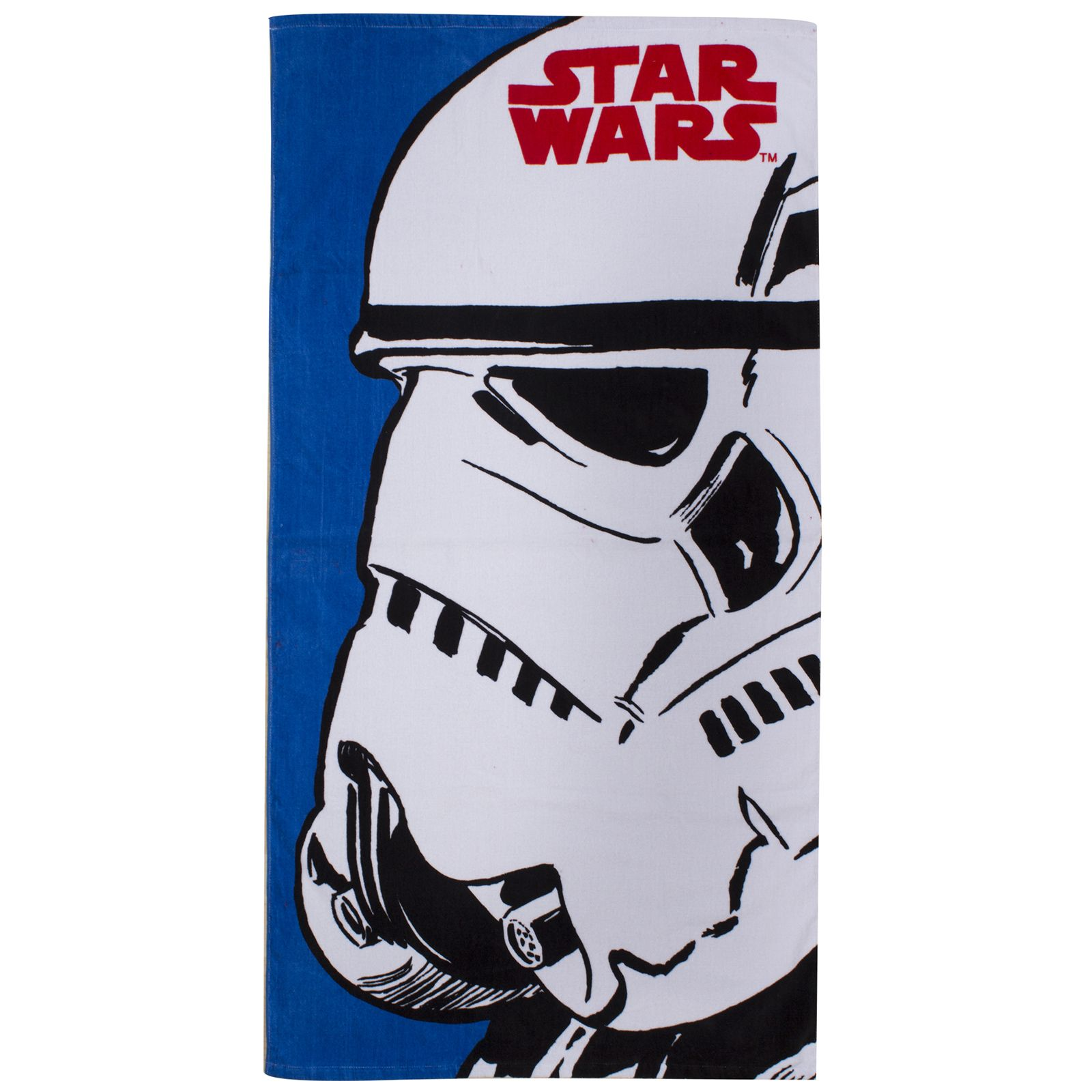star wars 39 stormtrooper 39 handtuch 70cm x 140cm neu ebay. Black Bedroom Furniture Sets. Home Design Ideas