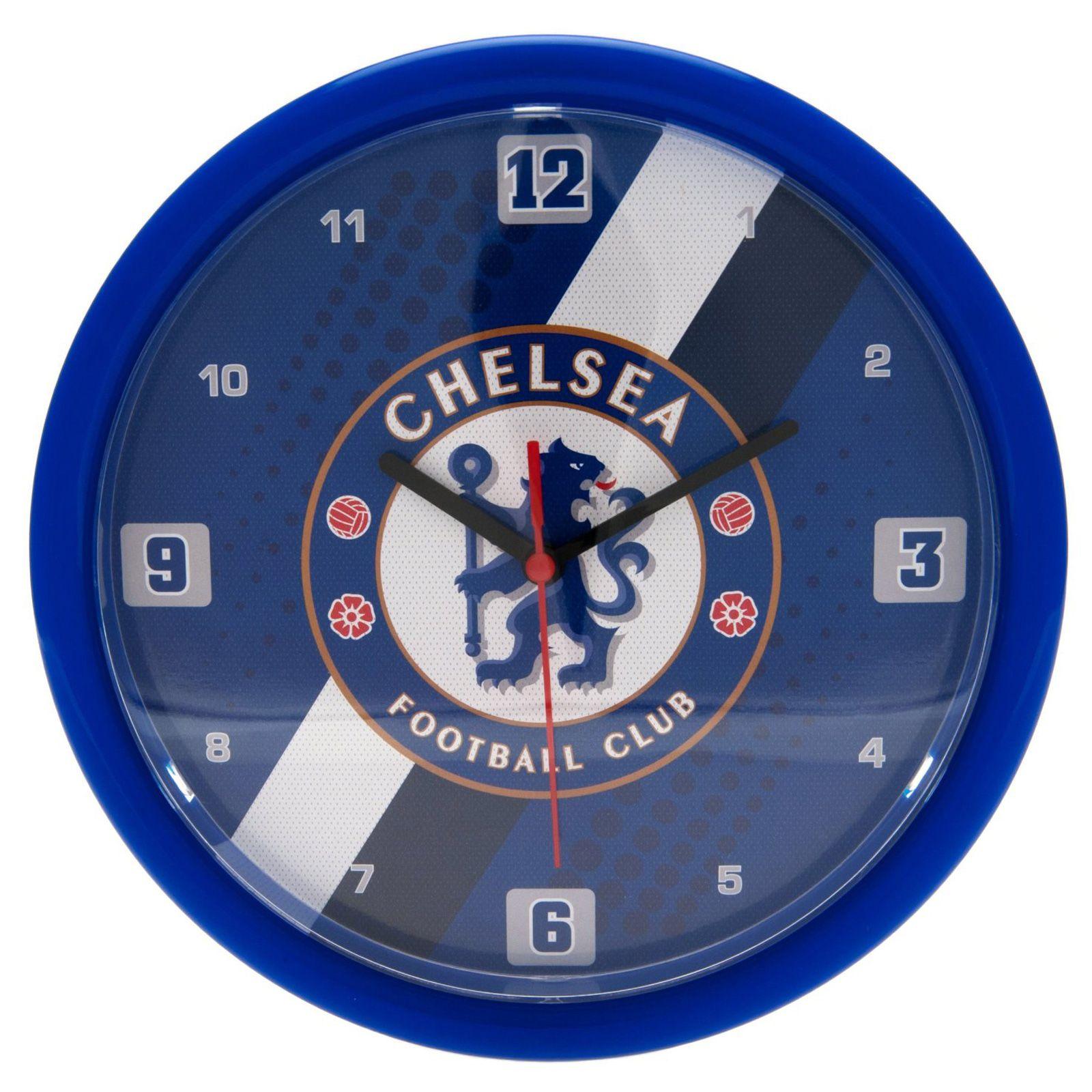 Fu?ball Tapete Real Madrid : Chelsea Clock