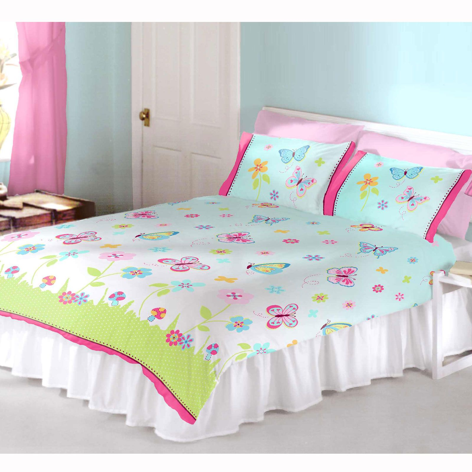 Girls Bedding Single And Double Polycotton Duvet Covers