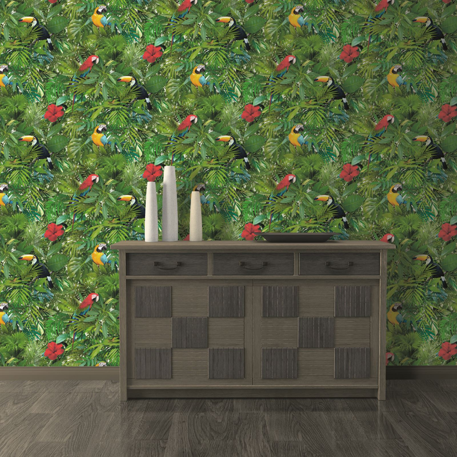tropical bird wallpaper for walls - photo #36