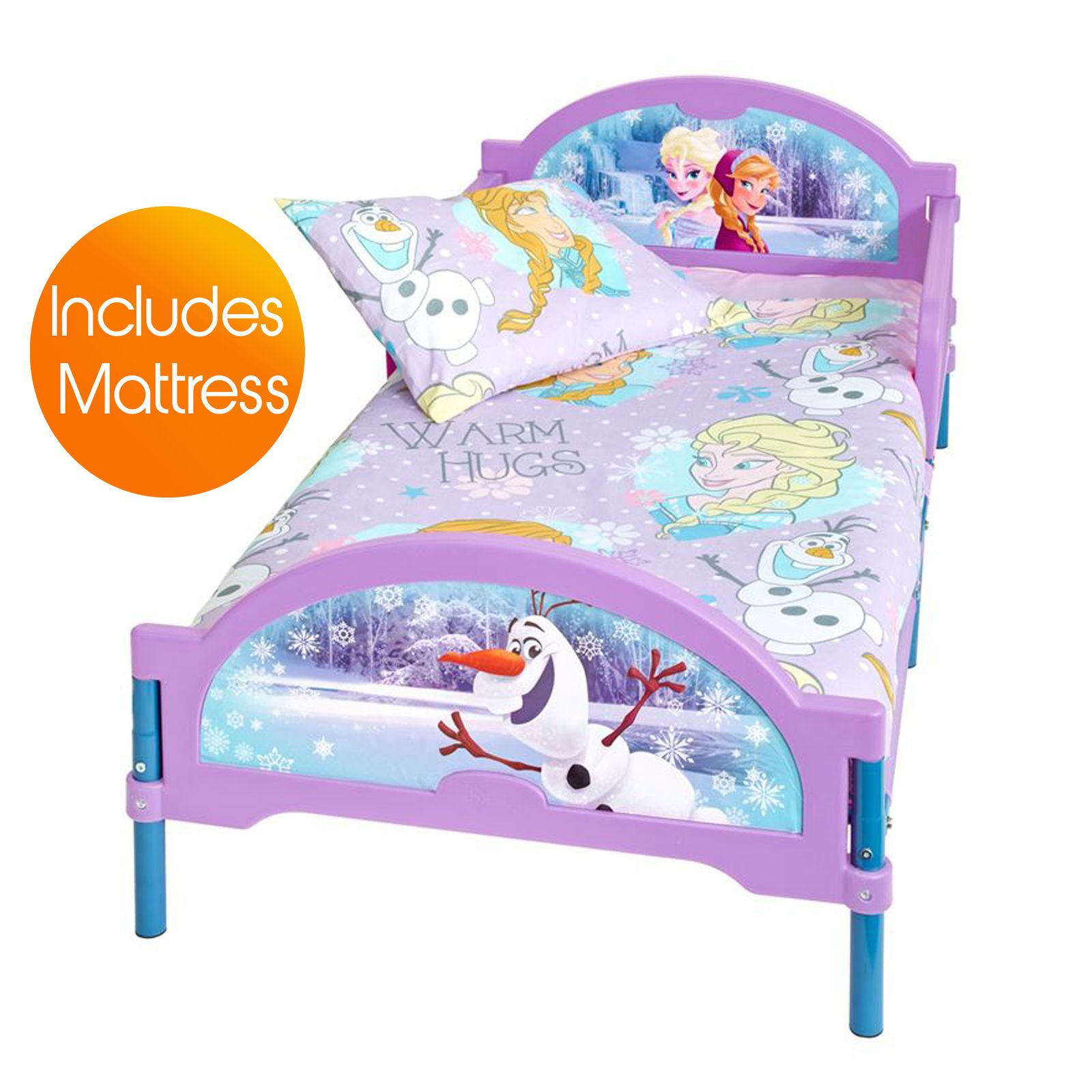 disney frozen cosytime kleinkind bett matratze neu offiziell ebay. Black Bedroom Furniture Sets. Home Design Ideas