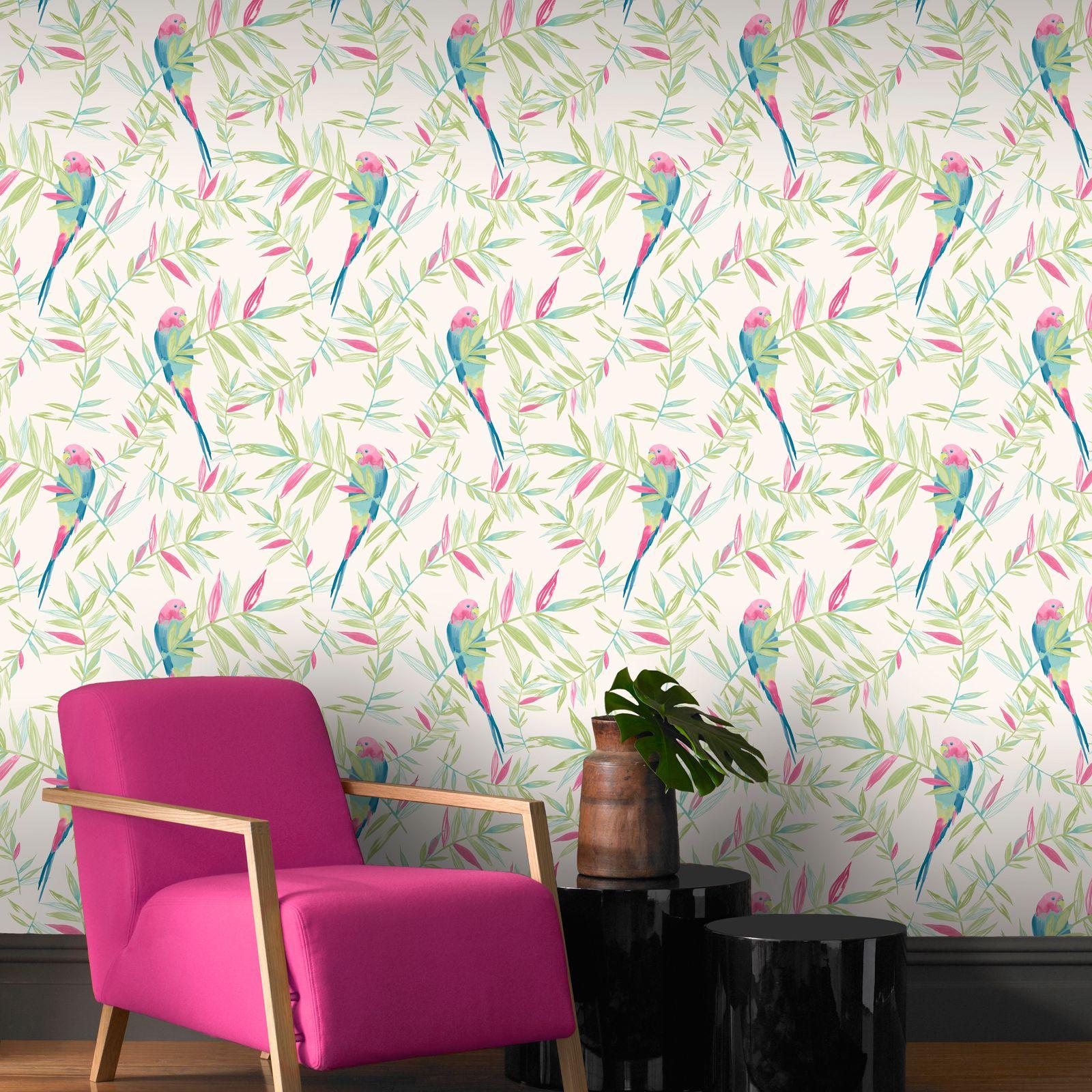 tropical bird wallpaper for walls - photo #35